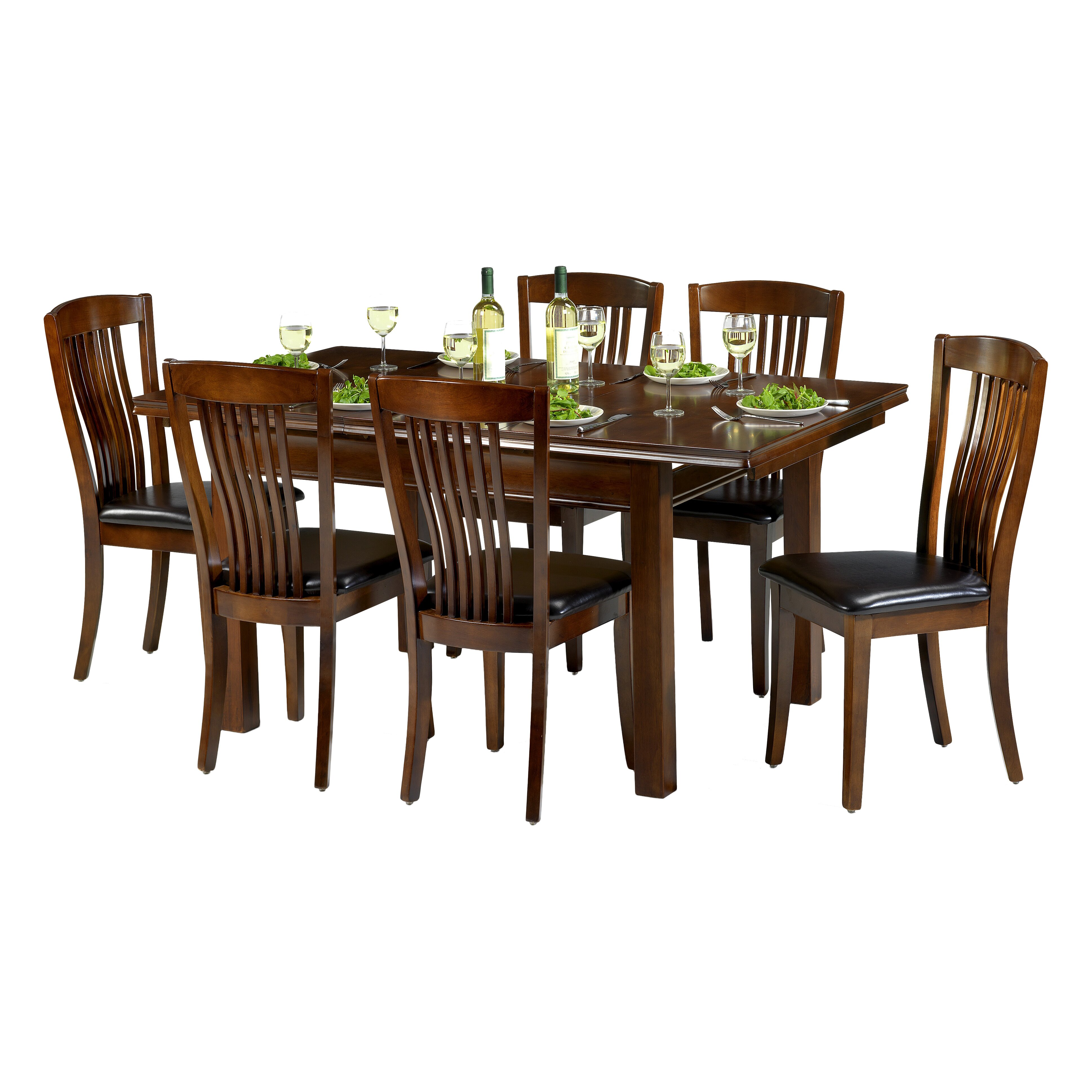 All Home Plymouth Extendable Dining Table and 6 Chairs  : Plymouth Extendable Dining Table and 6 Chairs AFLH6670 from www.wayfair.co.uk size 3876 x 3876 jpeg 1560kB