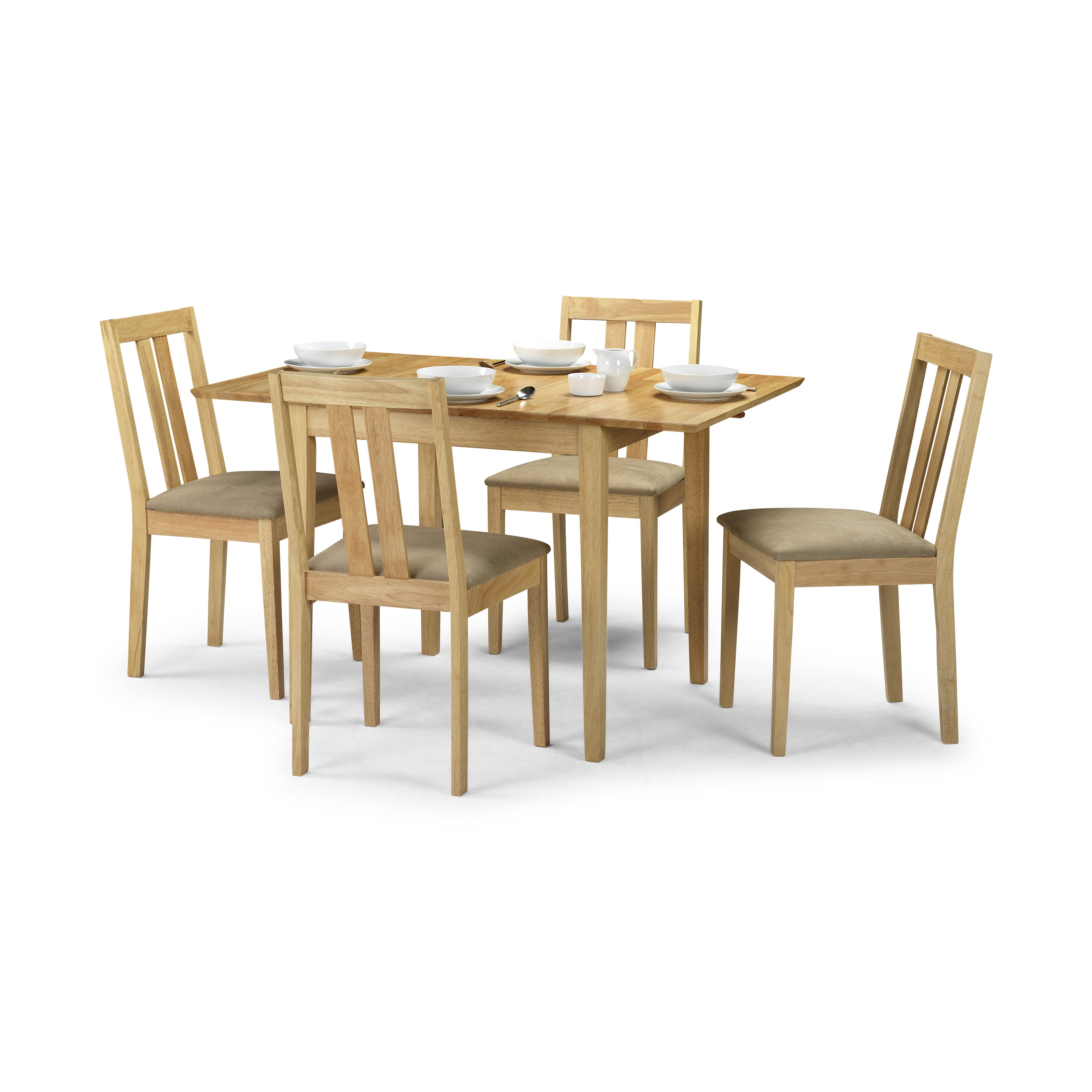 All Home Sherwood Solid Wood Upholstered Dining Chair
