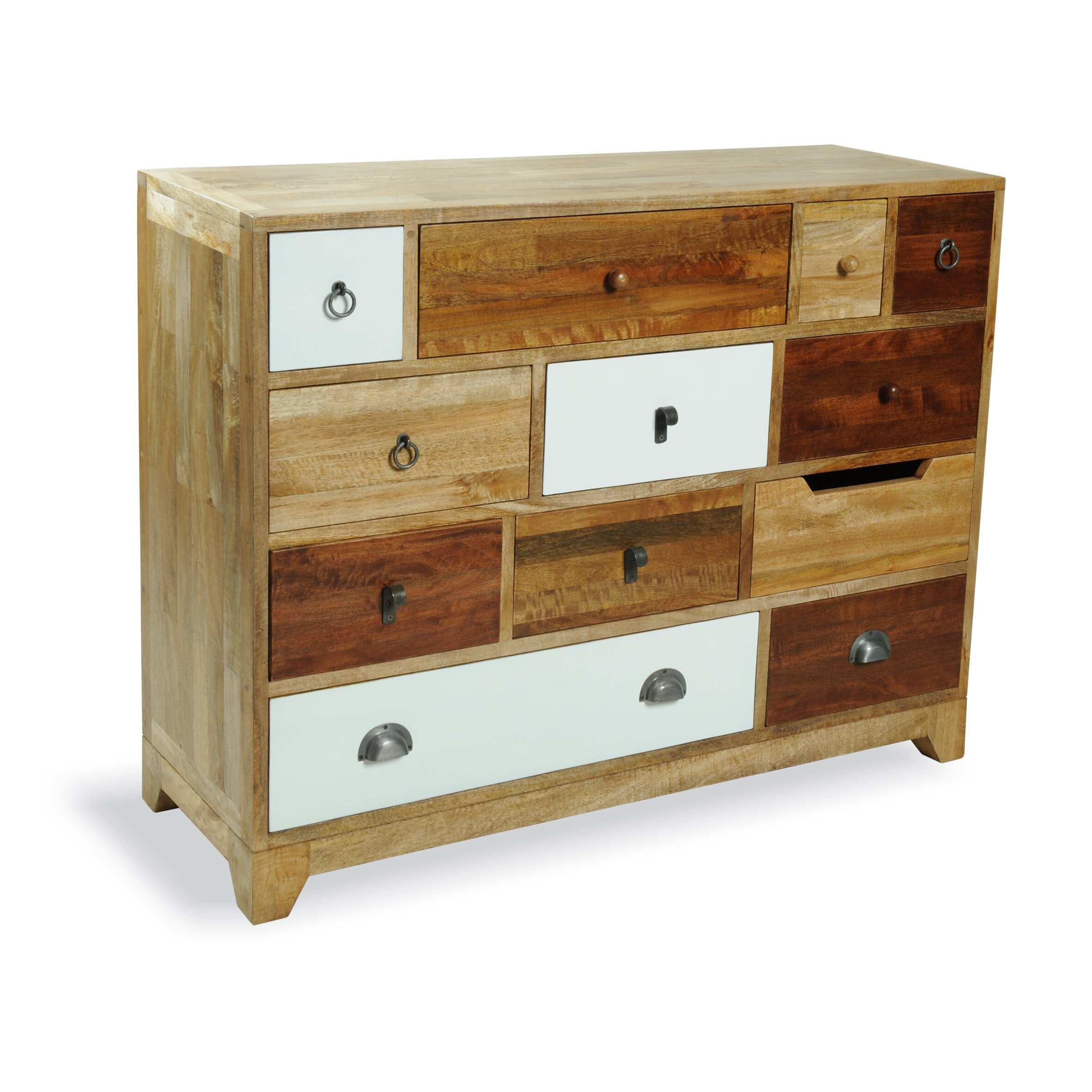 Amazing photo of Homestead Living Barlad 12 Drawer Chest & Reviews Wayfair UK with #6F3F1E color and 2362x2362 pixels