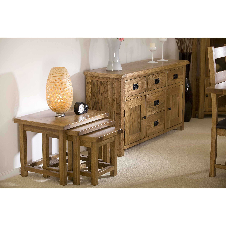 Homestead Living Rayleigh 3 Piece Nesting Tables Wayfair Uk