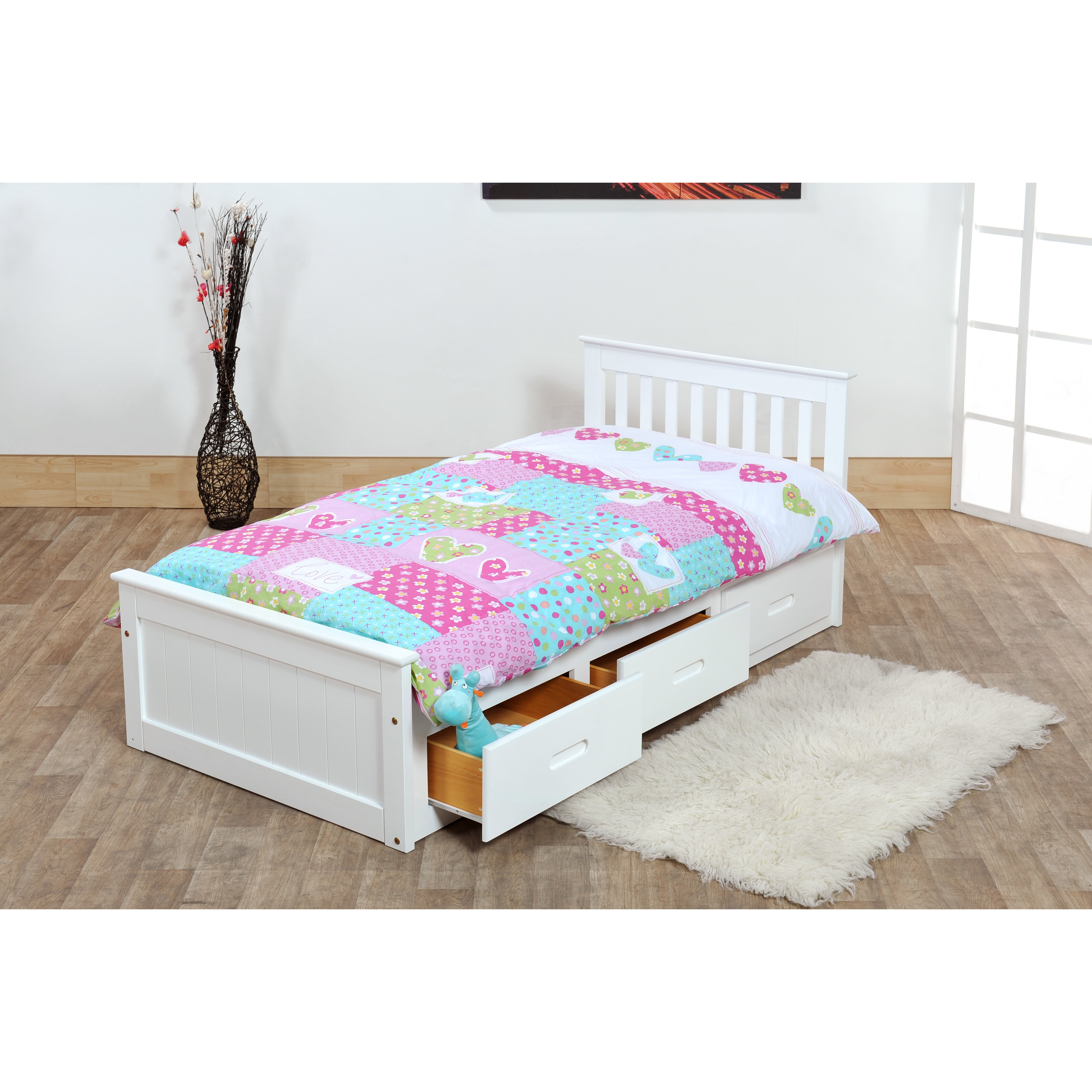 Homestead Living Single Cabin Bed with Storage & Reviews ...