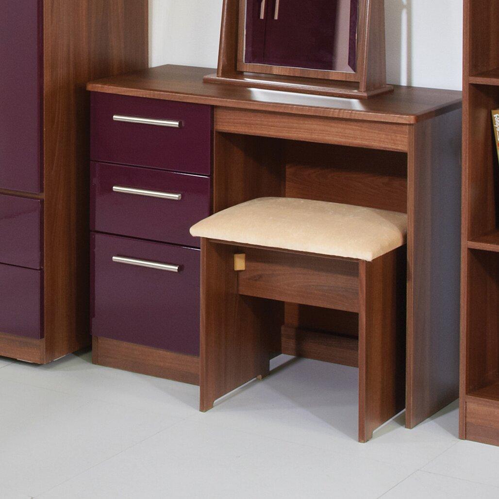 homestead living yaple 3 drawer dressing table reviews. Black Bedroom Furniture Sets. Home Design Ideas