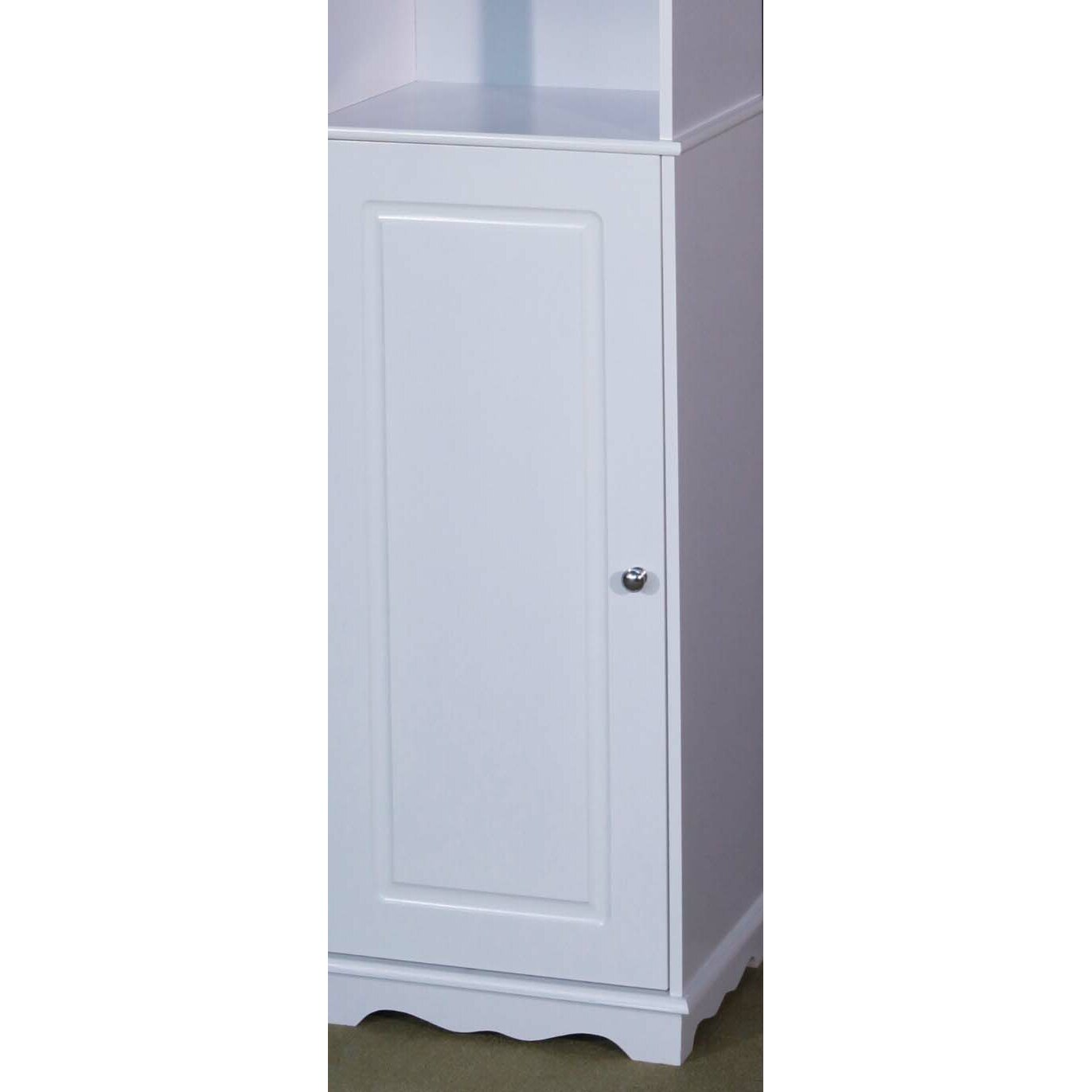 kandos 40 x free standing tall bathroom cabinet wayfair uk