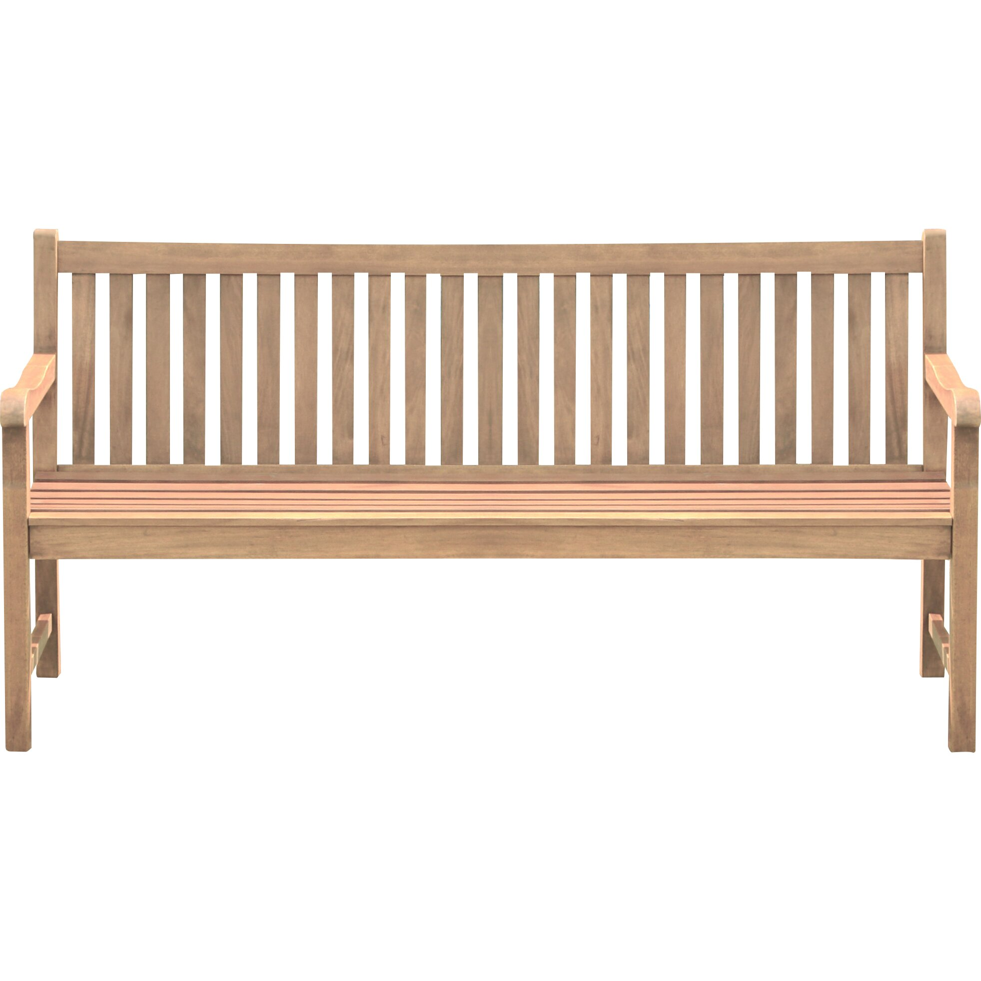 Home Etc Muireann 3 Seater White Balau Wooden Bench Reviews Wayfair Uk