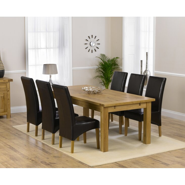 Home Etc Ritual Dining Table And 6 Chairs Wayfair Uk