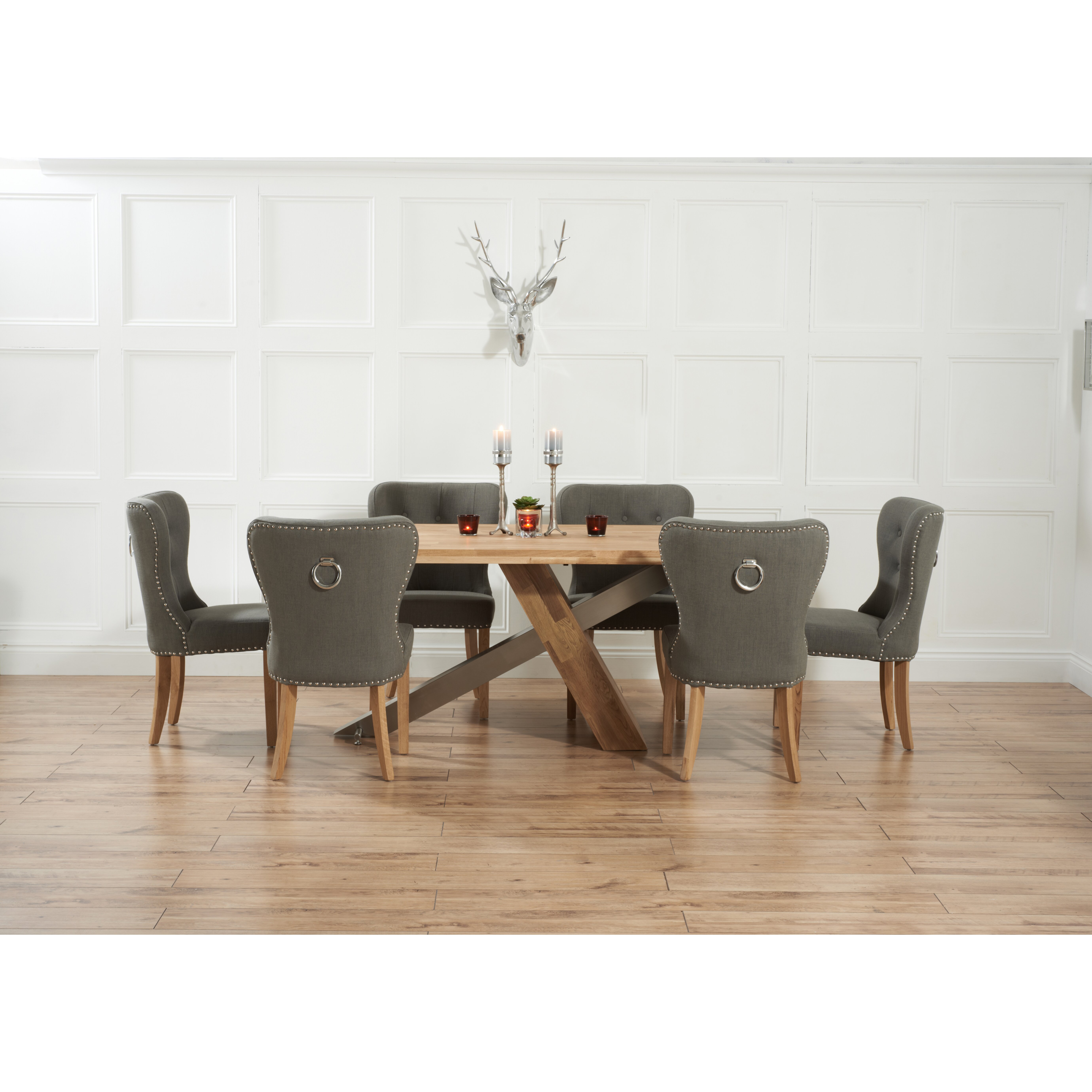 Home etc ohio dining table and 6 chairs wayfair uk for Table and 6 chairs uk