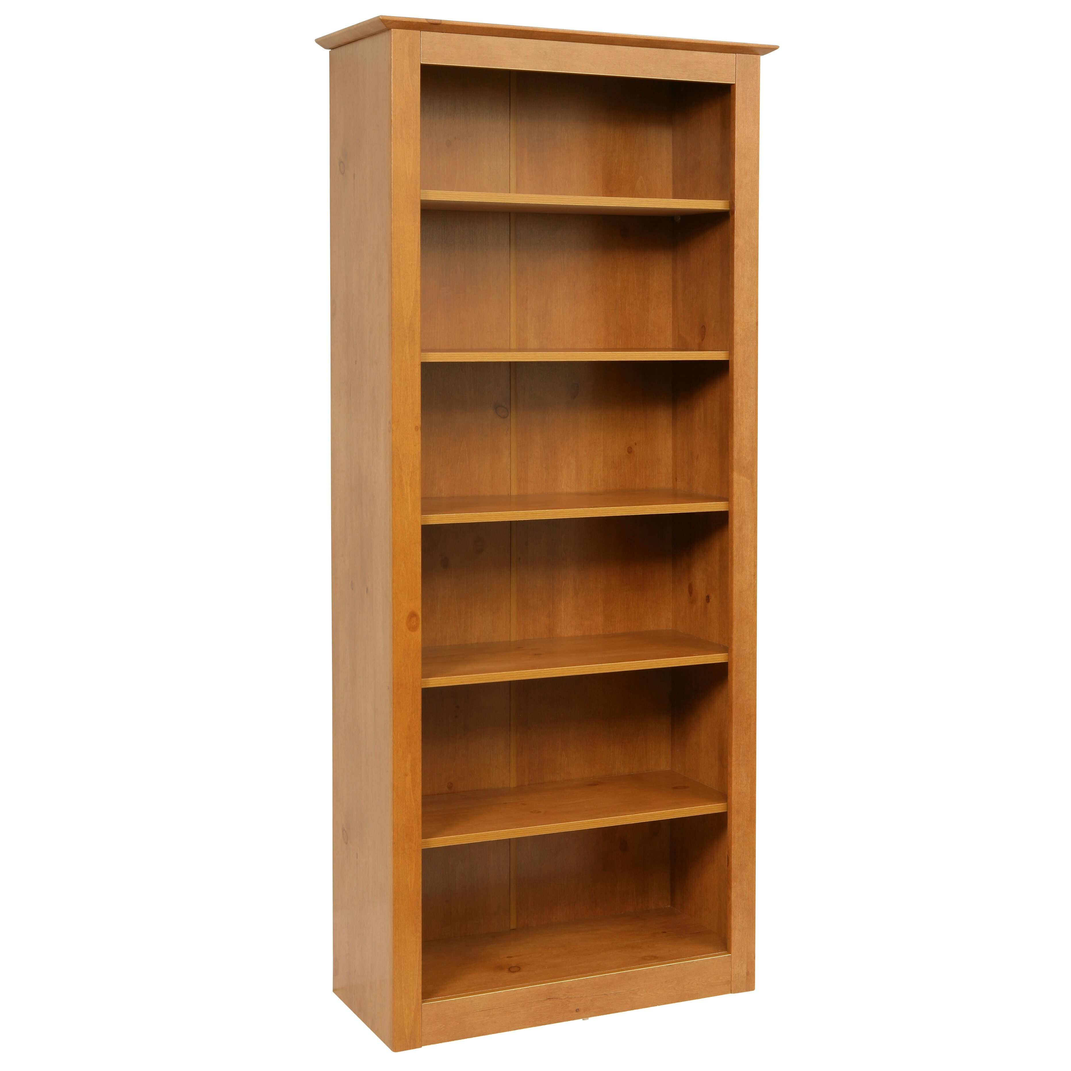 brand new 23 inch wide bookcase with interesting examples