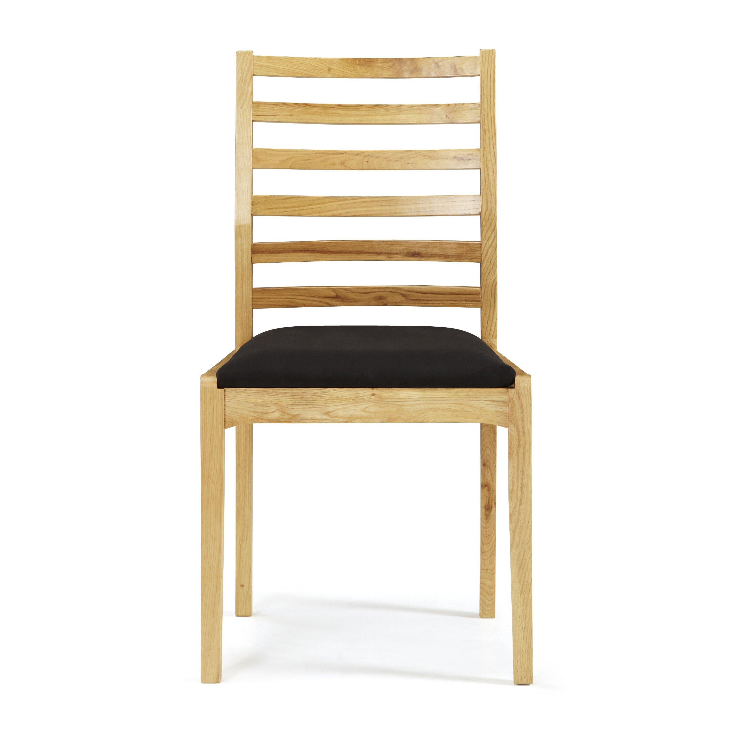 Hallowood Furniture Oak Upholstered Dining Chair Wayfair Uk Hallowood Furniture Oak