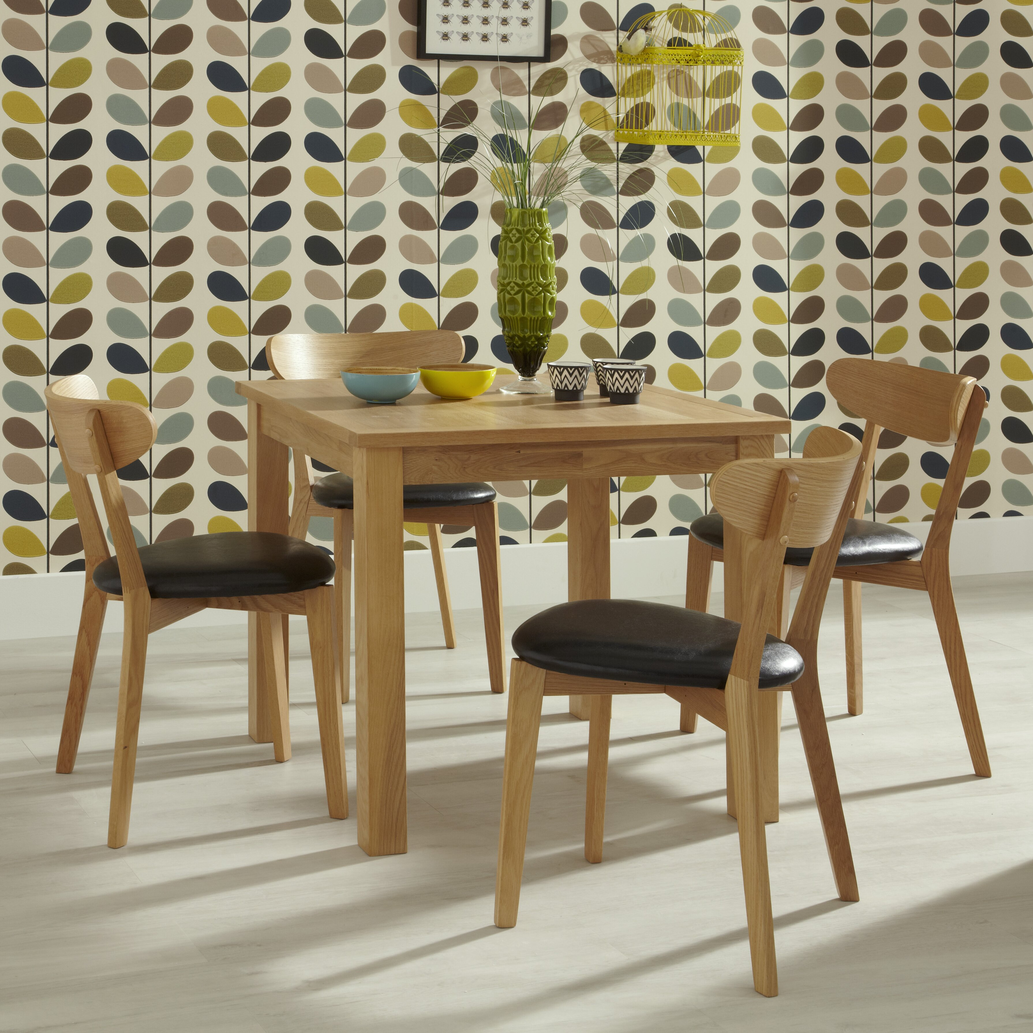 Home Haus Galga Dining Table And 4 Chairs Reviews Wayfair Uk