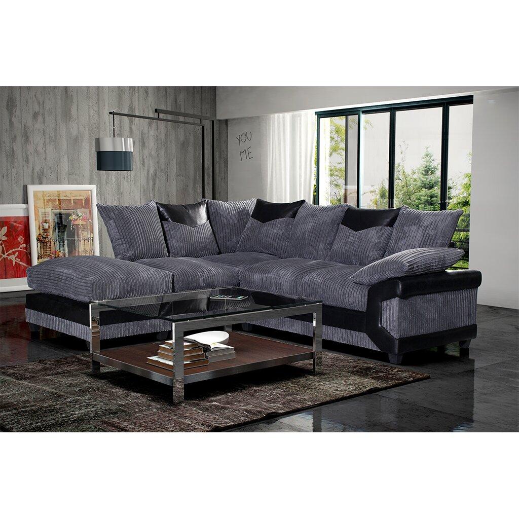 Home Haus Line Corner Sofa Reviews Wayfair Uk