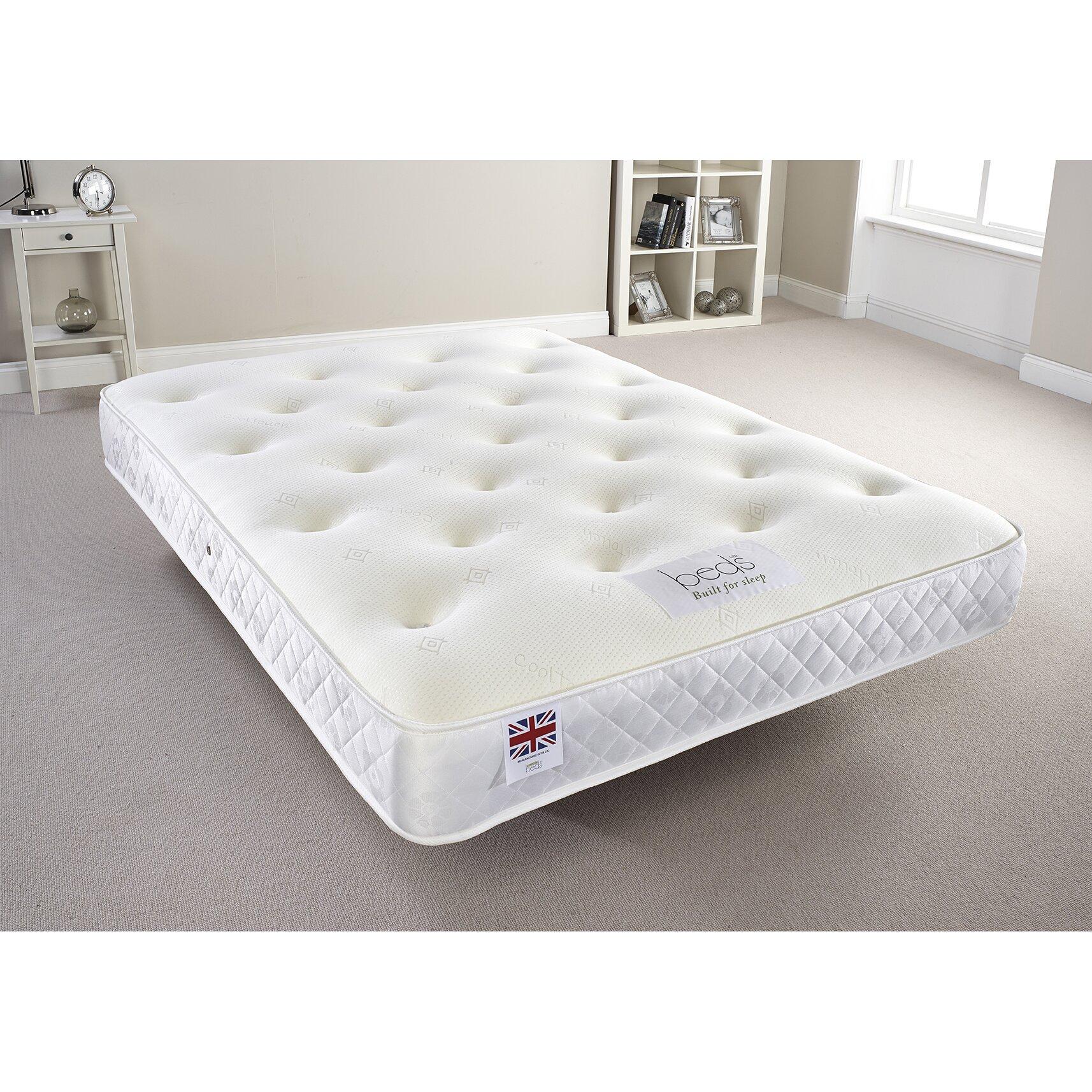 Home haus orthopedic memory foam mattress reviews for Orthopedic mattress