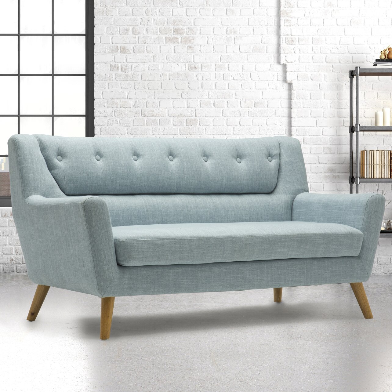 home haus lambeth 3 seater sofa wayfair uk. Black Bedroom Furniture Sets. Home Design Ideas