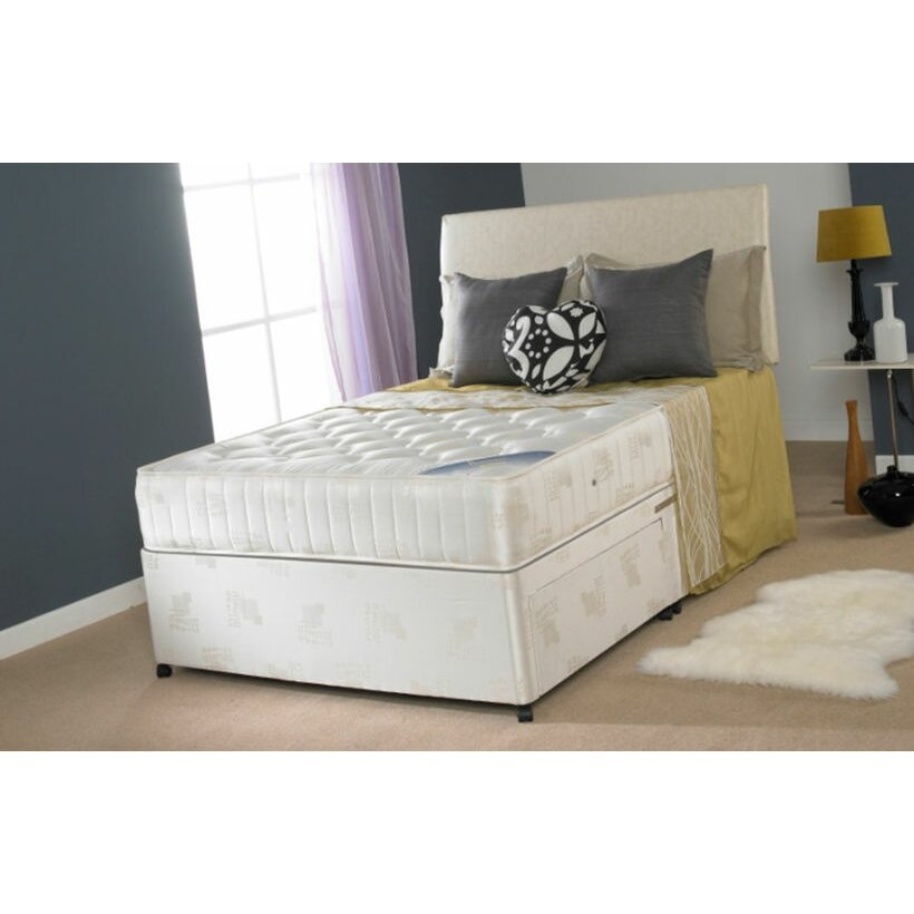 Home Haus Barcer Orthopaedic Divan Bed Reviews Wayfair Uk