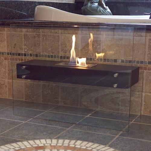 Nu Flame La Strada Freestanding Bio Ethanol Fireplace Reviews Wayfair