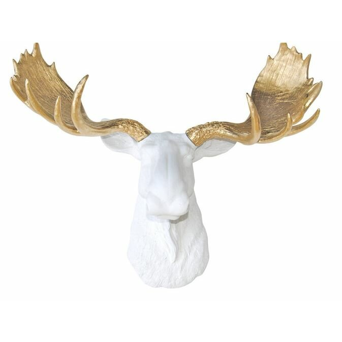 Near And Deer Head Faux Taxidermy Moose Wall Décor