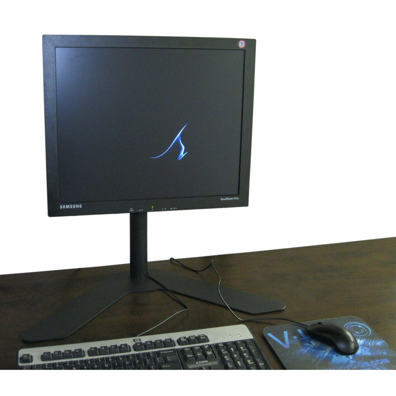 Vivo Single Lcd Monitor Fully Height Adjustable Desk Mount