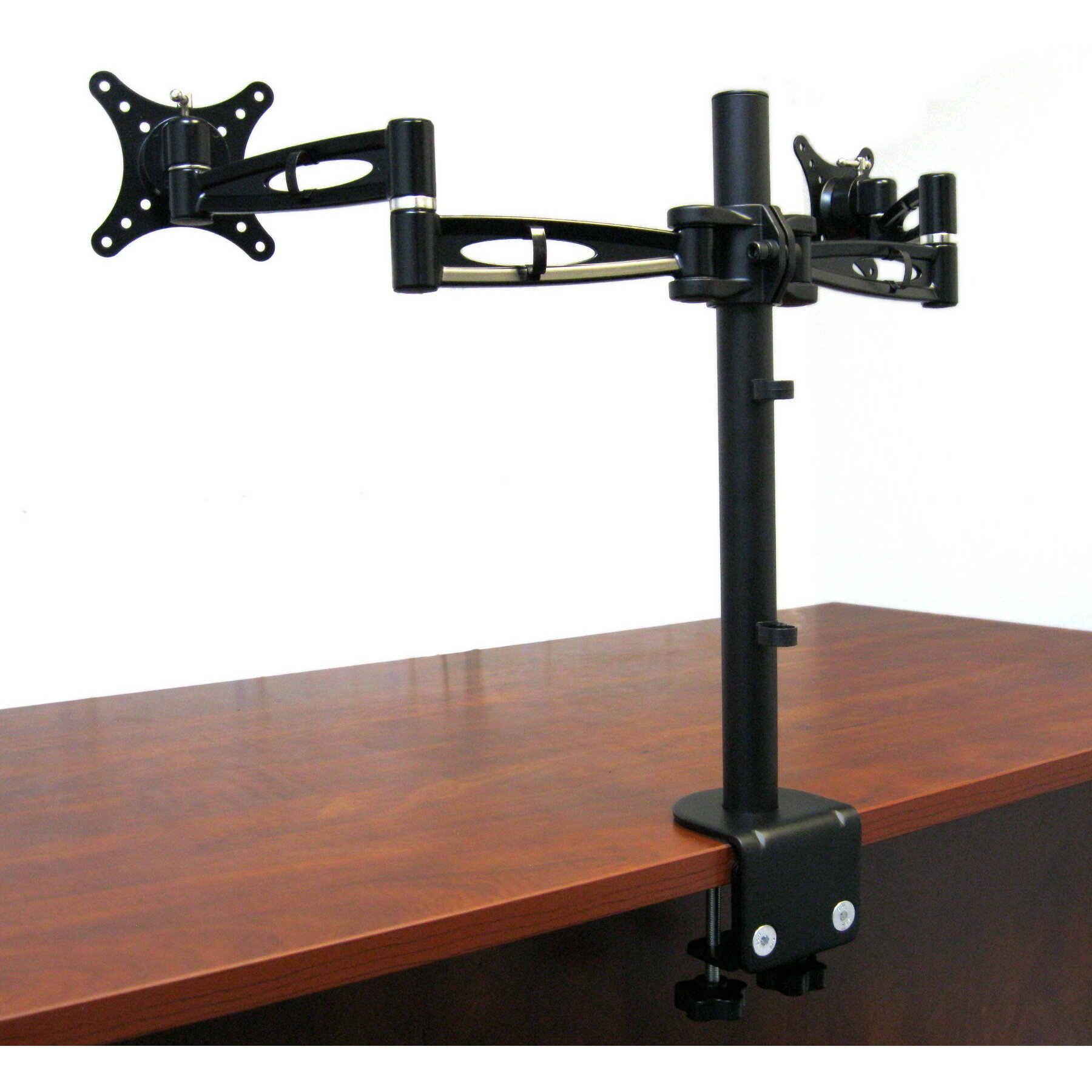 Vivo Dual Lcd Monitor Height Adjustable 2 Screen Desk