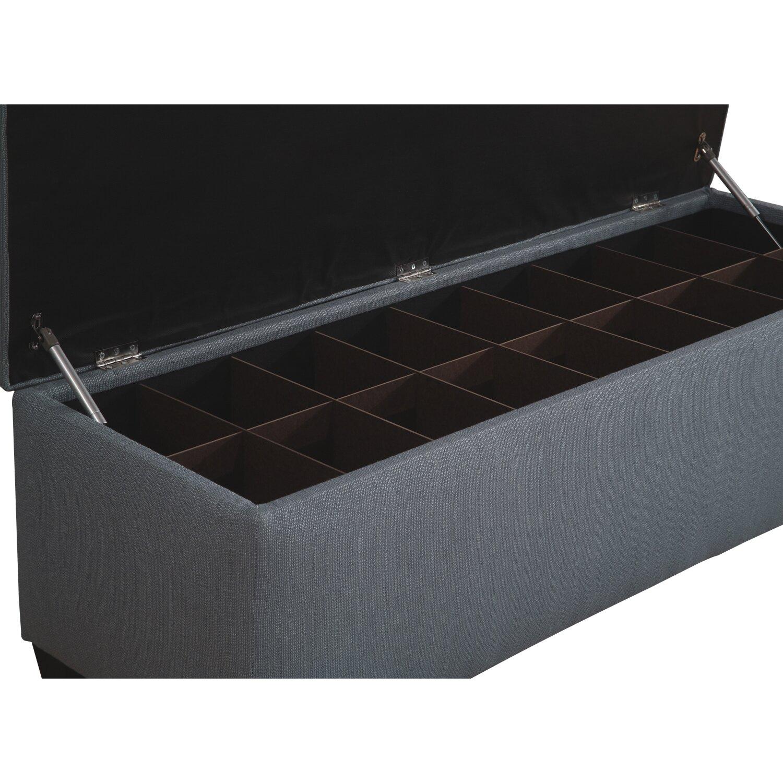 The Sole Secret Upholstered Storage Bedroom Bench Reviews Wayfair