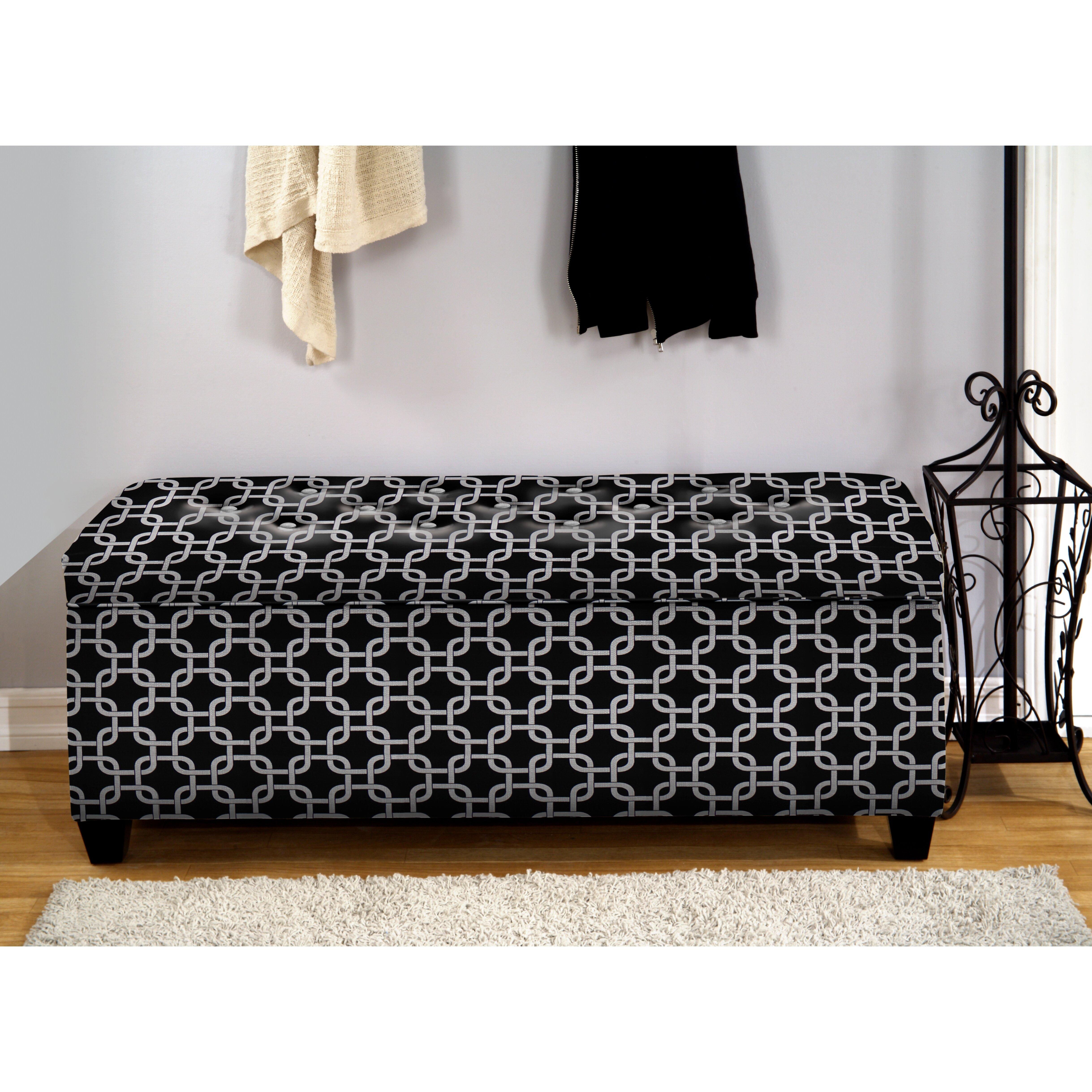 The sole secret upholstered storage bedroom bench wayfair - Bedroom storage bench upholstered ...
