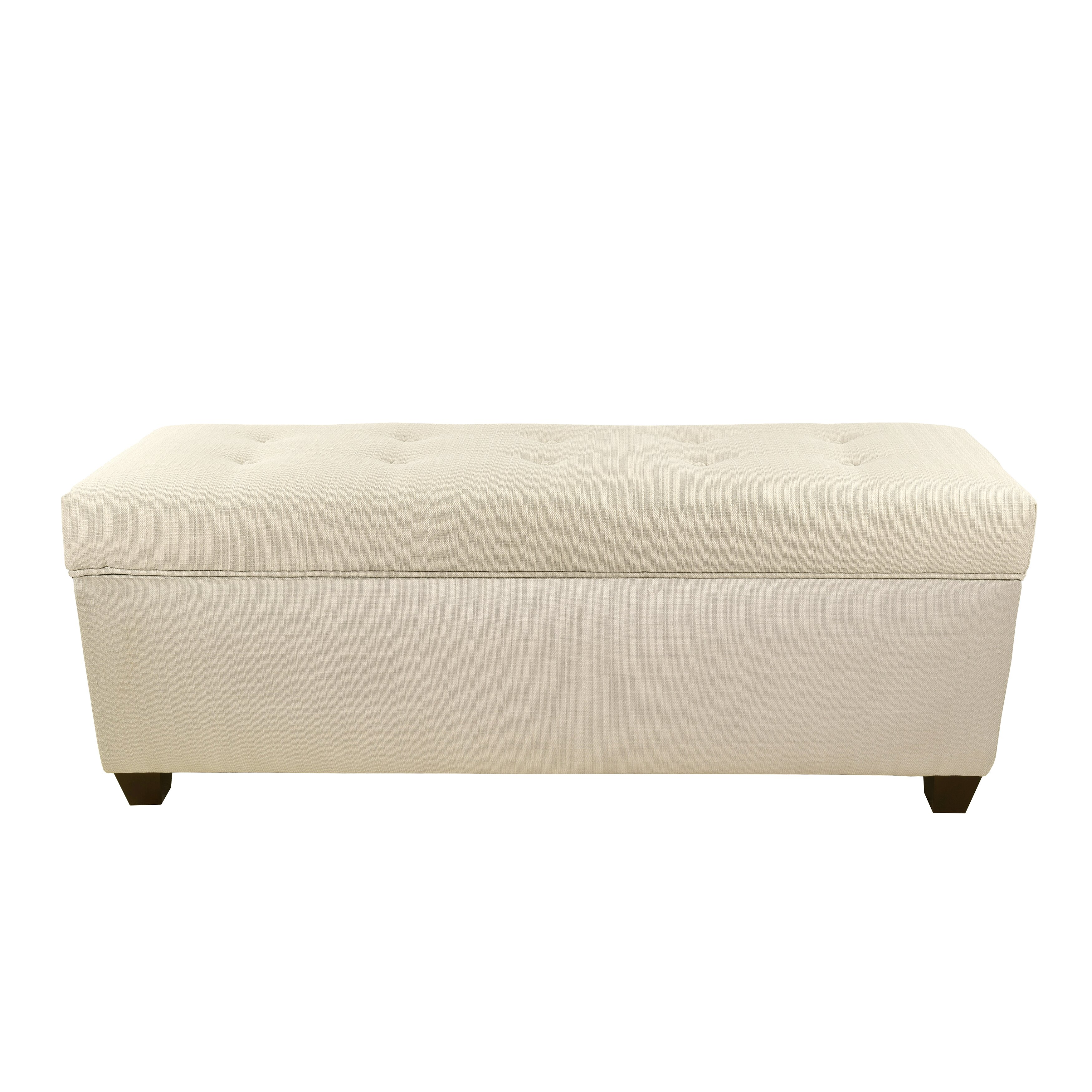 The Sole Secret Sole Secret Upholstered Storage Bench Reviews Wayfair