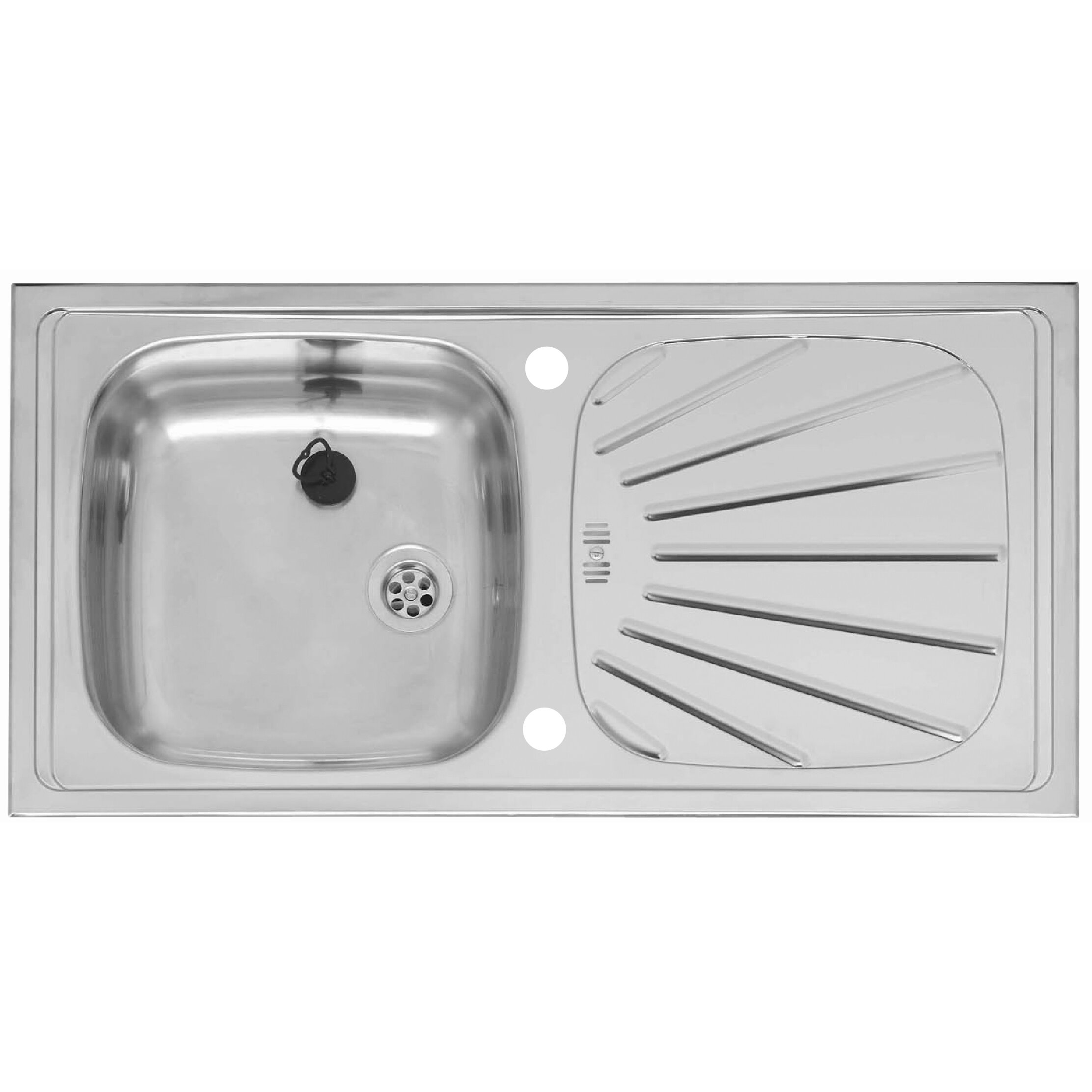 reginox 86cm x single bowl kitchen sink reviews wayfair uk