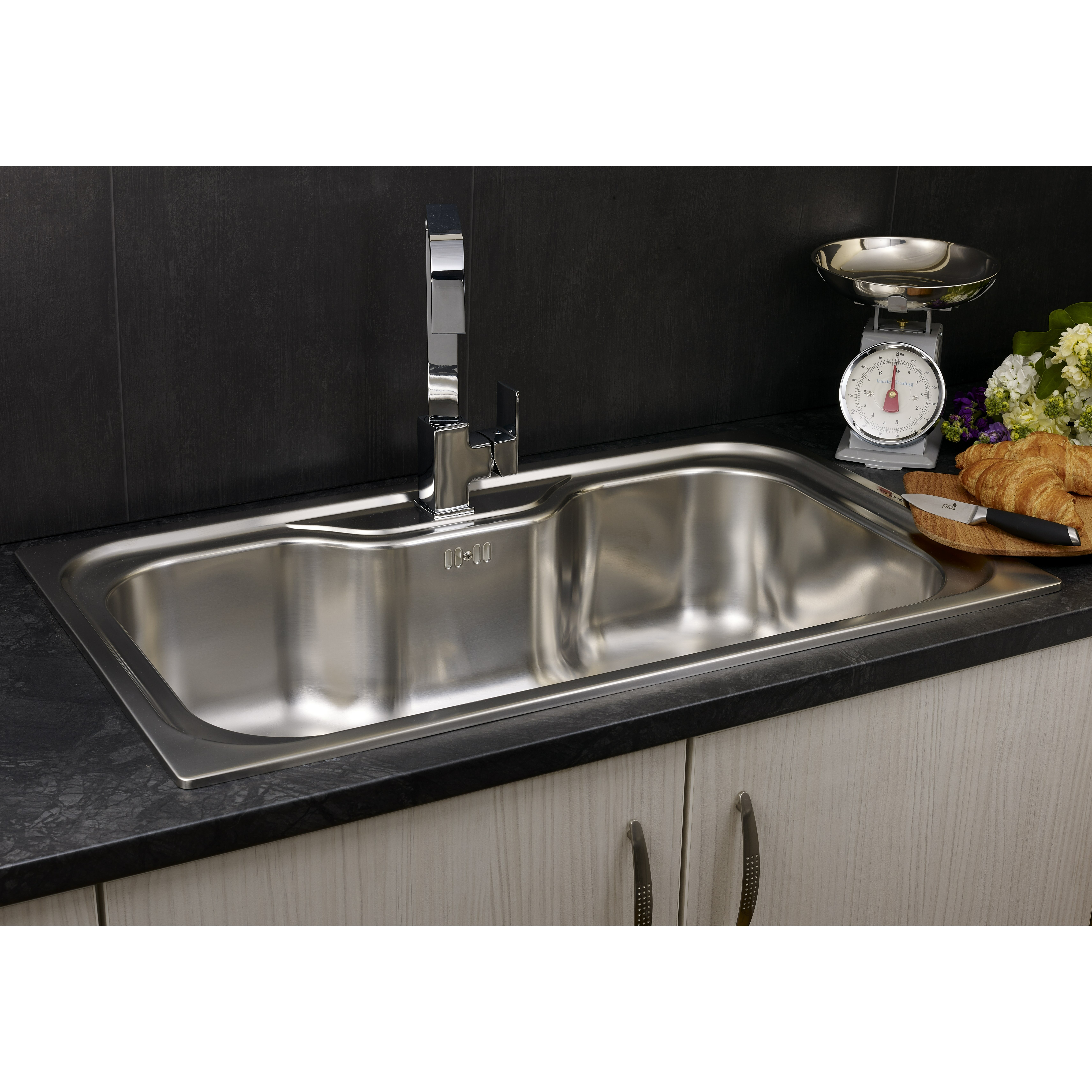 Reginox 86cm X 51cm Single Bowl Kitchen Sink Reviews Wayfair Uk
