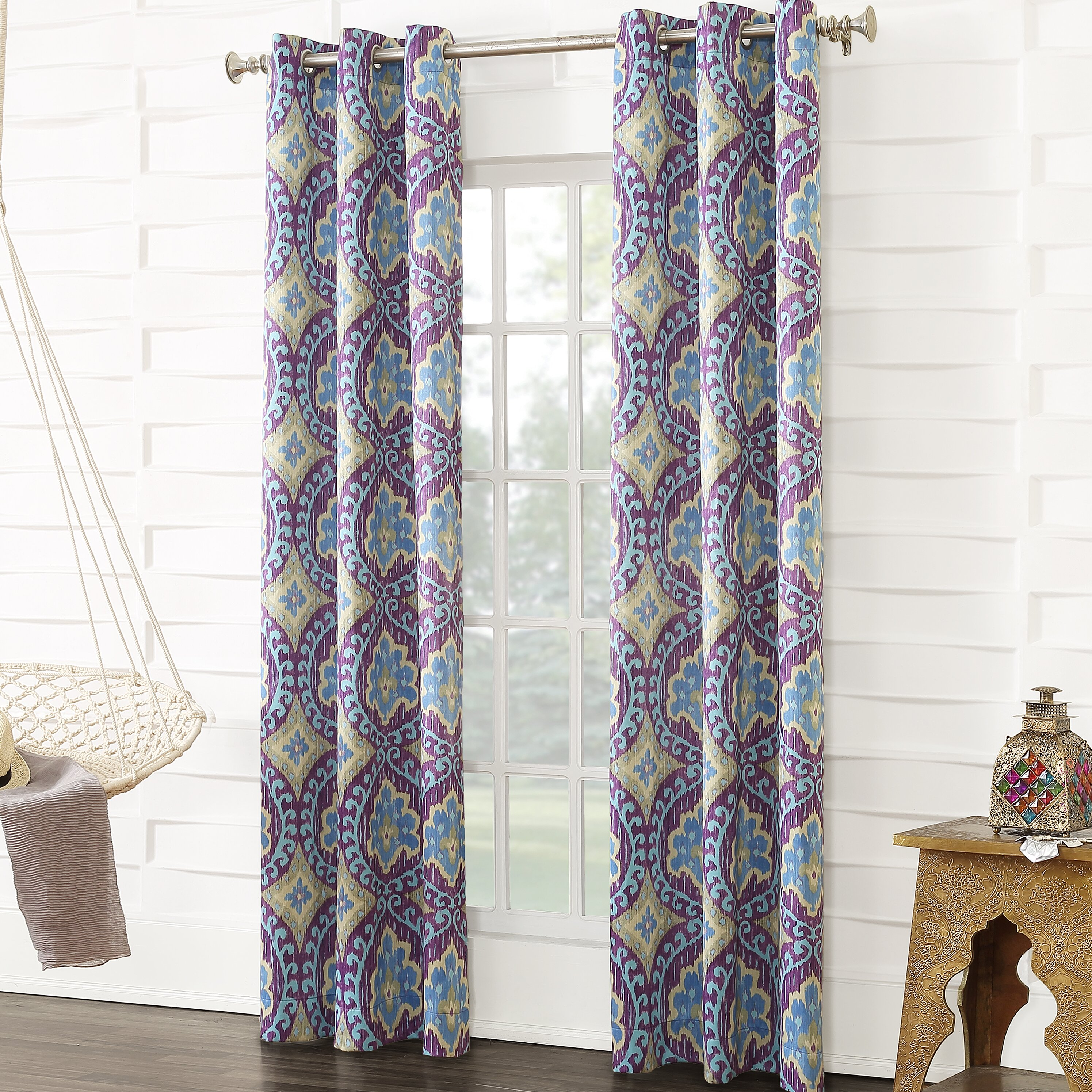 Sun Zero Gabriel Thermal Single Curtain Panel