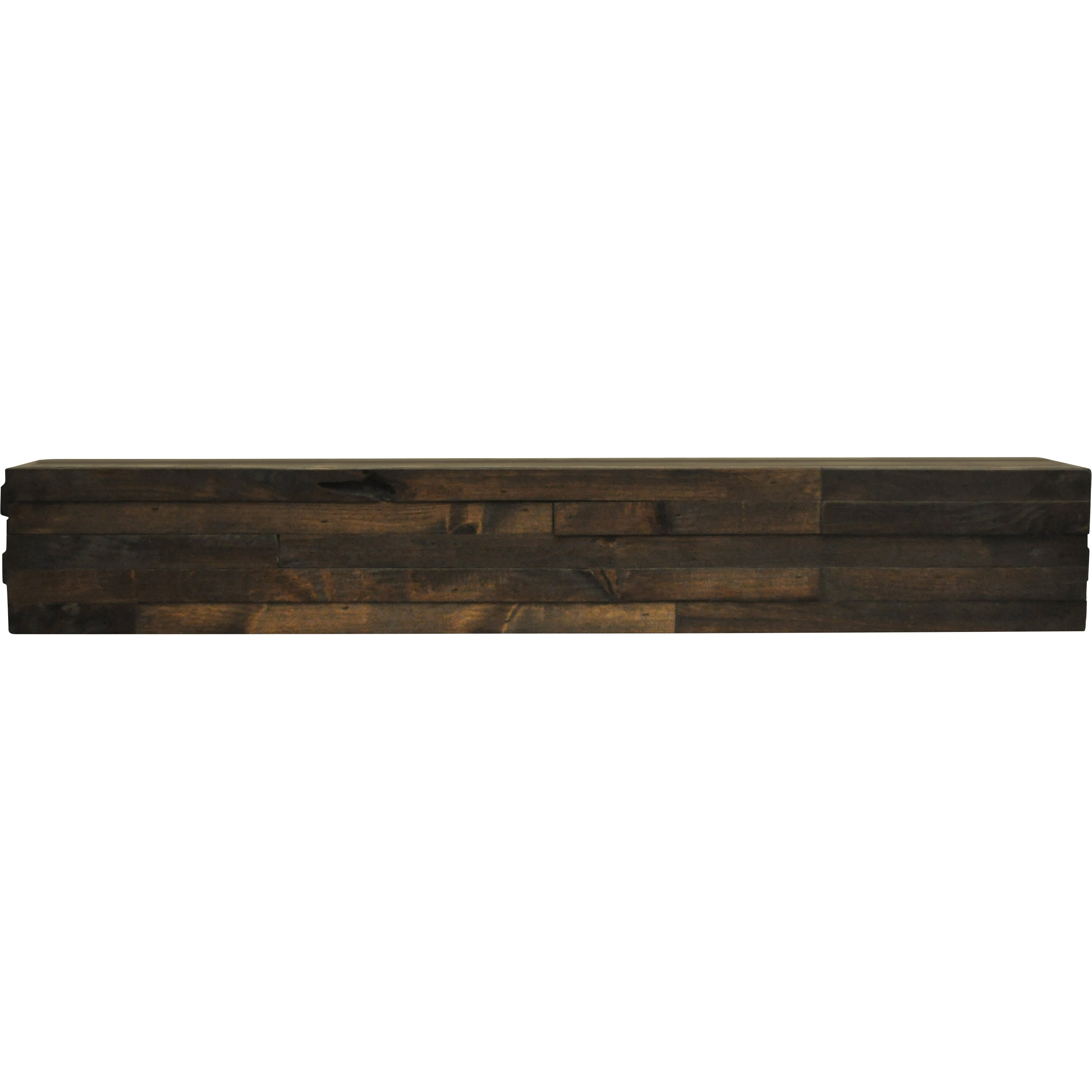Dogberry collections modern fireplace mantel shelf reviews wayfair supply - Beneficial contemporary fireplace mantel shelves ...