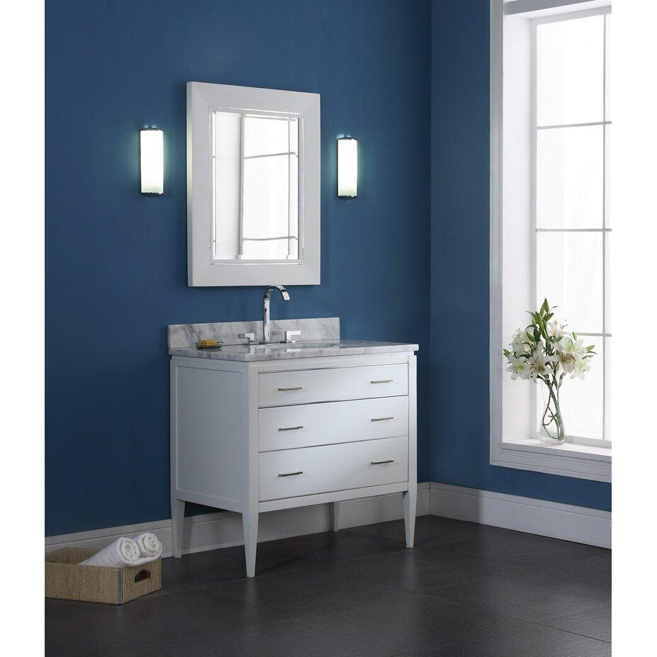Ryvyr Manhattan 37 Single Bathroom Vanity Cabinet Set Reviews Allmodern
