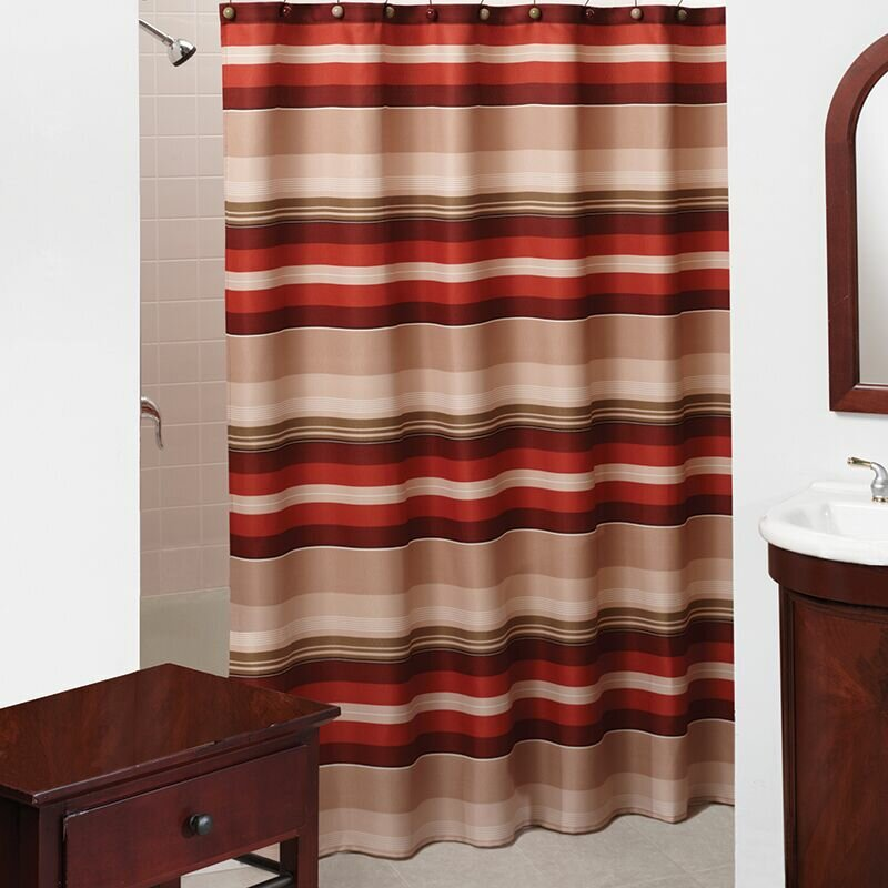 Saturday Knight Madison Stripe Shower Curtain Amp Reviews