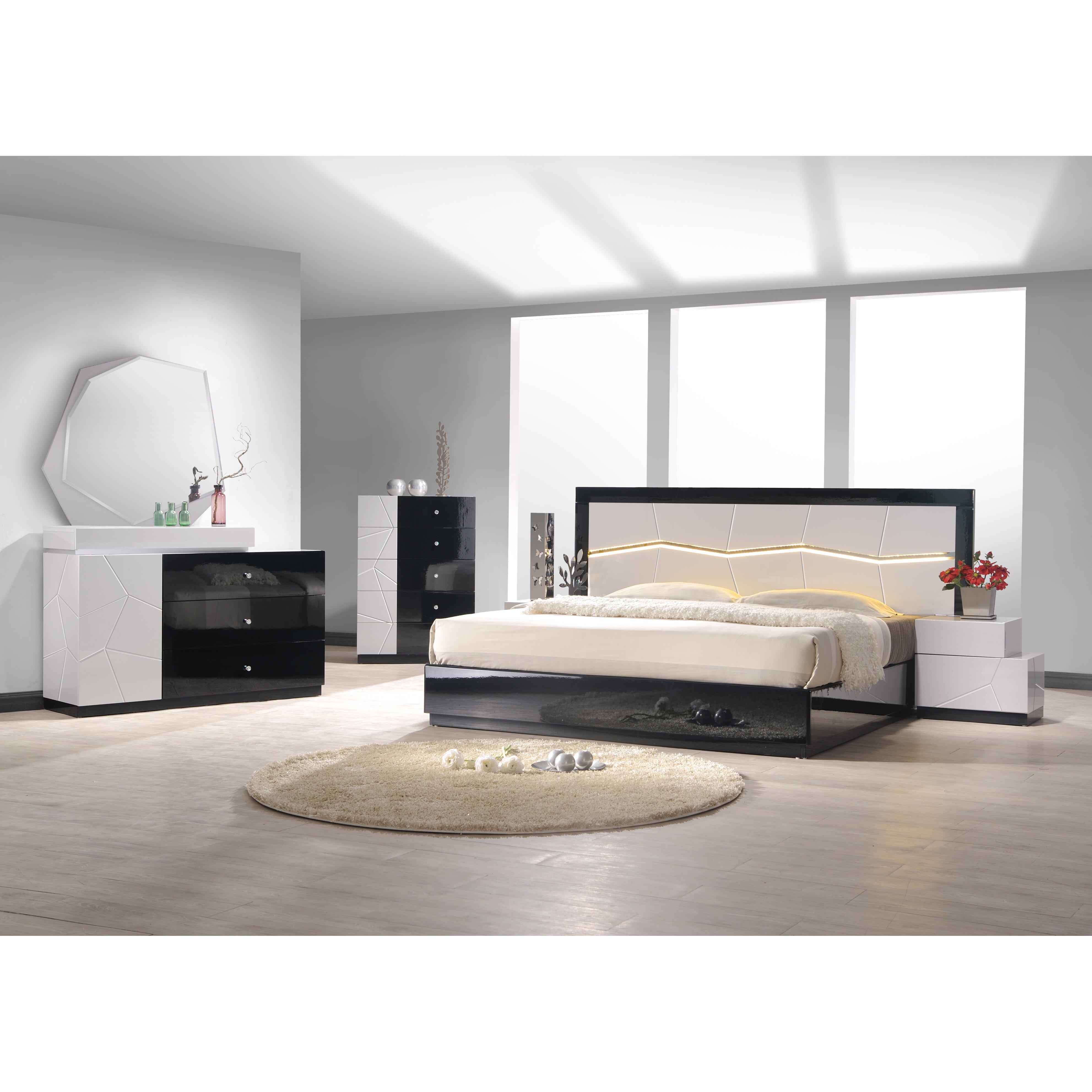 J m furniture turin platform customizable bedroom set for Taylor j bedroom furniture