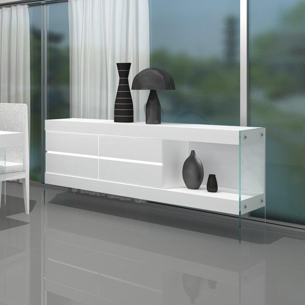 J M Furniture Cloud Buffet Reviews Wayfair Supply