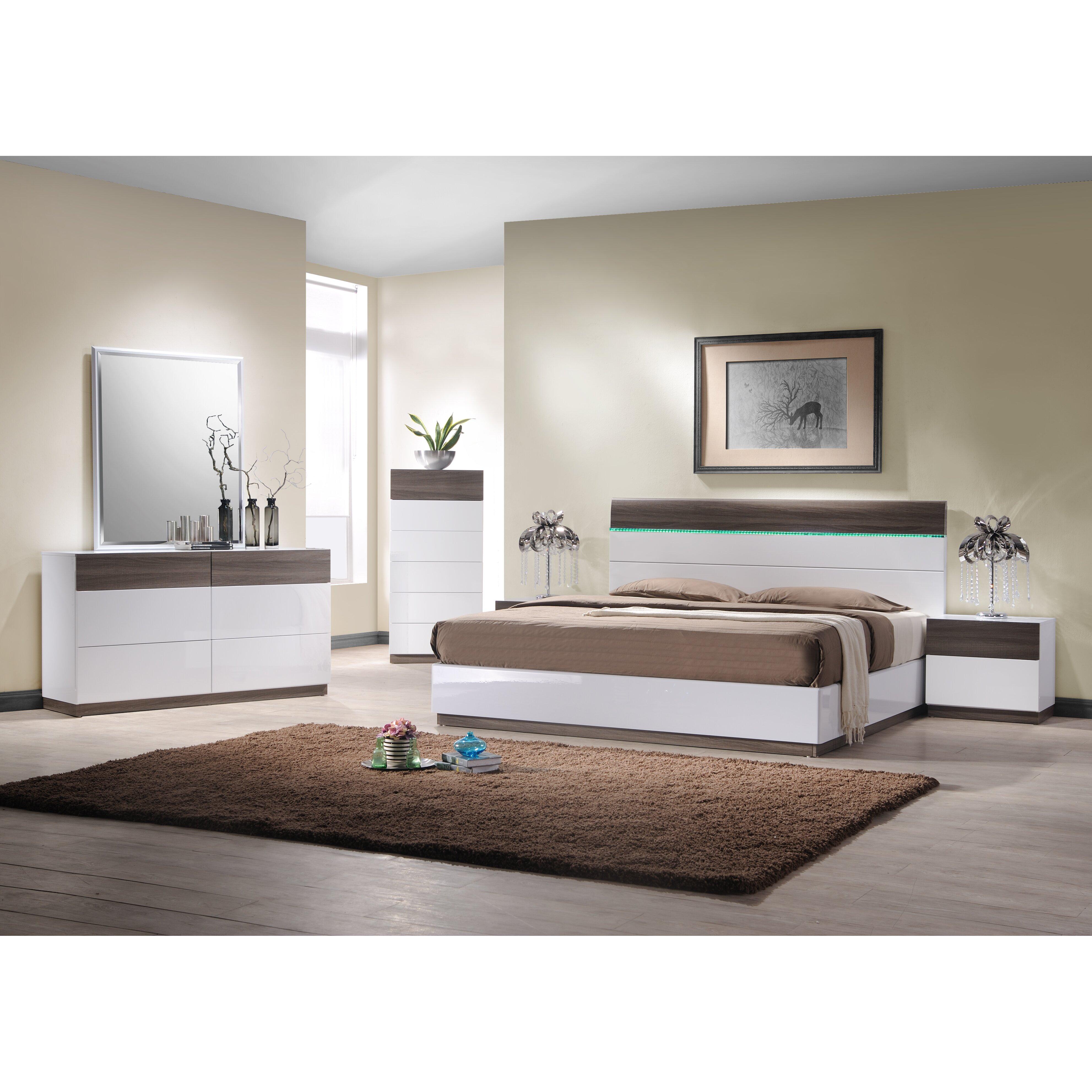 J M Furniture Sanremo Drawer Nightstand Reviews Wayfair
