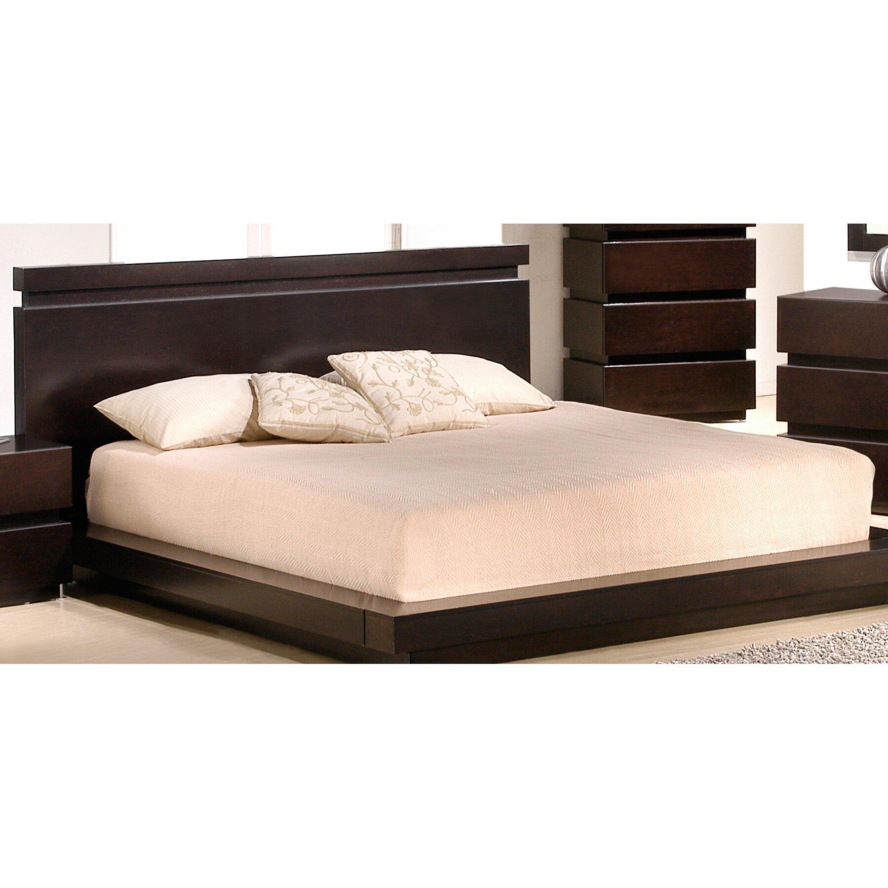 J M Furniture Knotch Platform Customizable Bedroom Set Reviews Allmodern