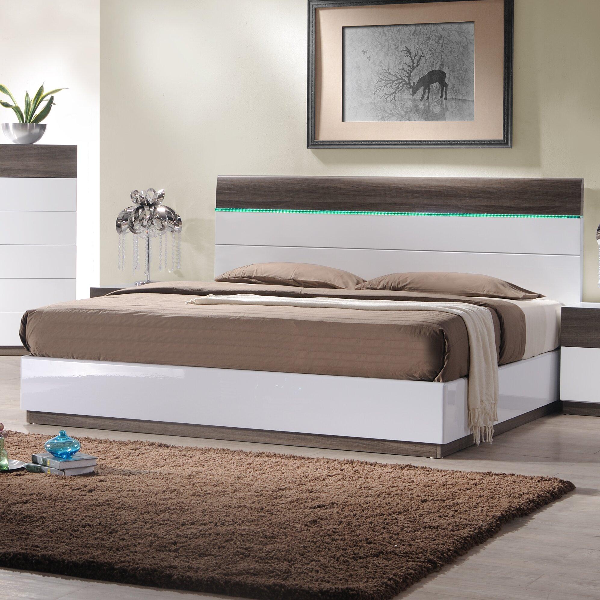 J m furniture sanremo b platform customizable bedroom set for J m bedroom furniture