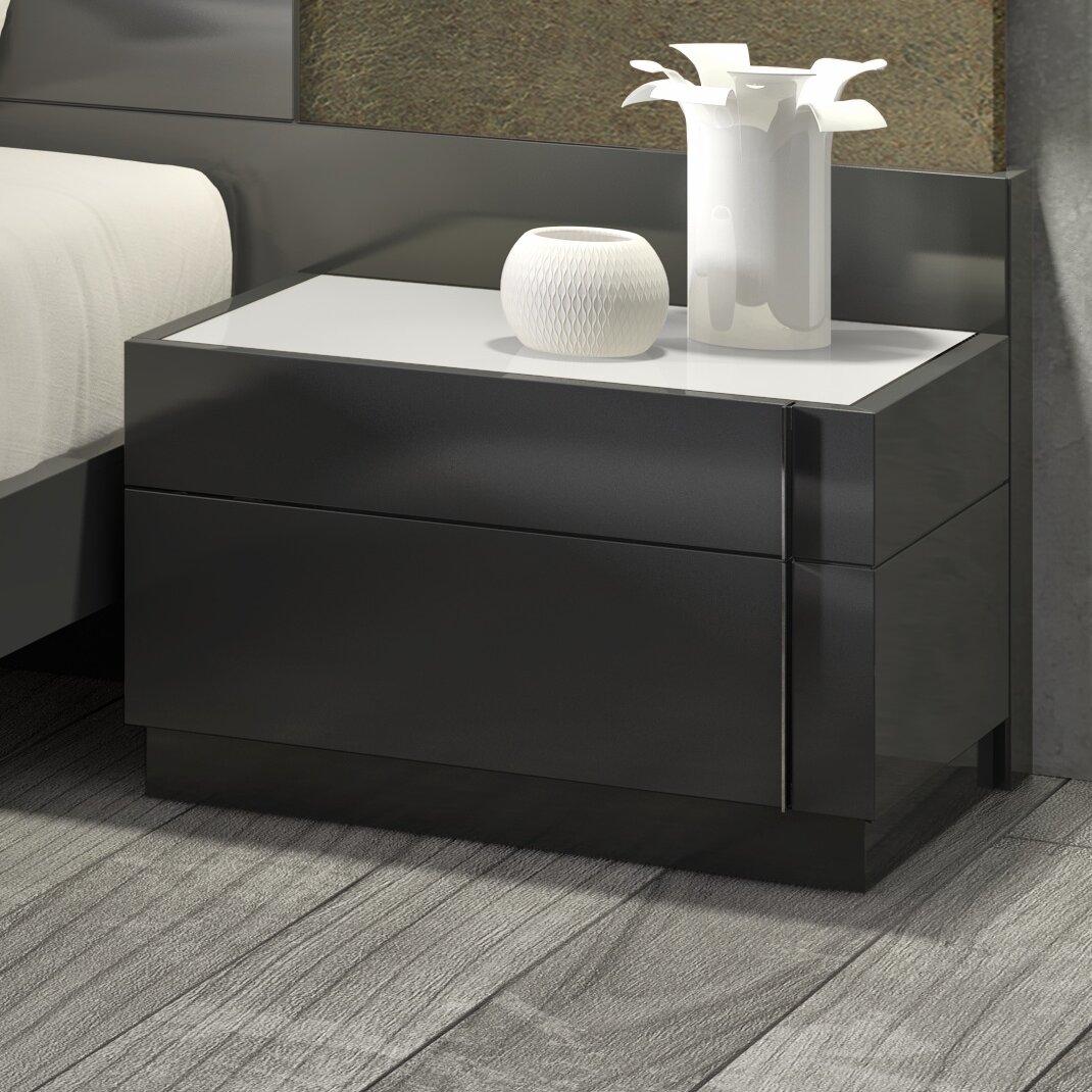 J M Furniture Braga Left Nightstand Reviews