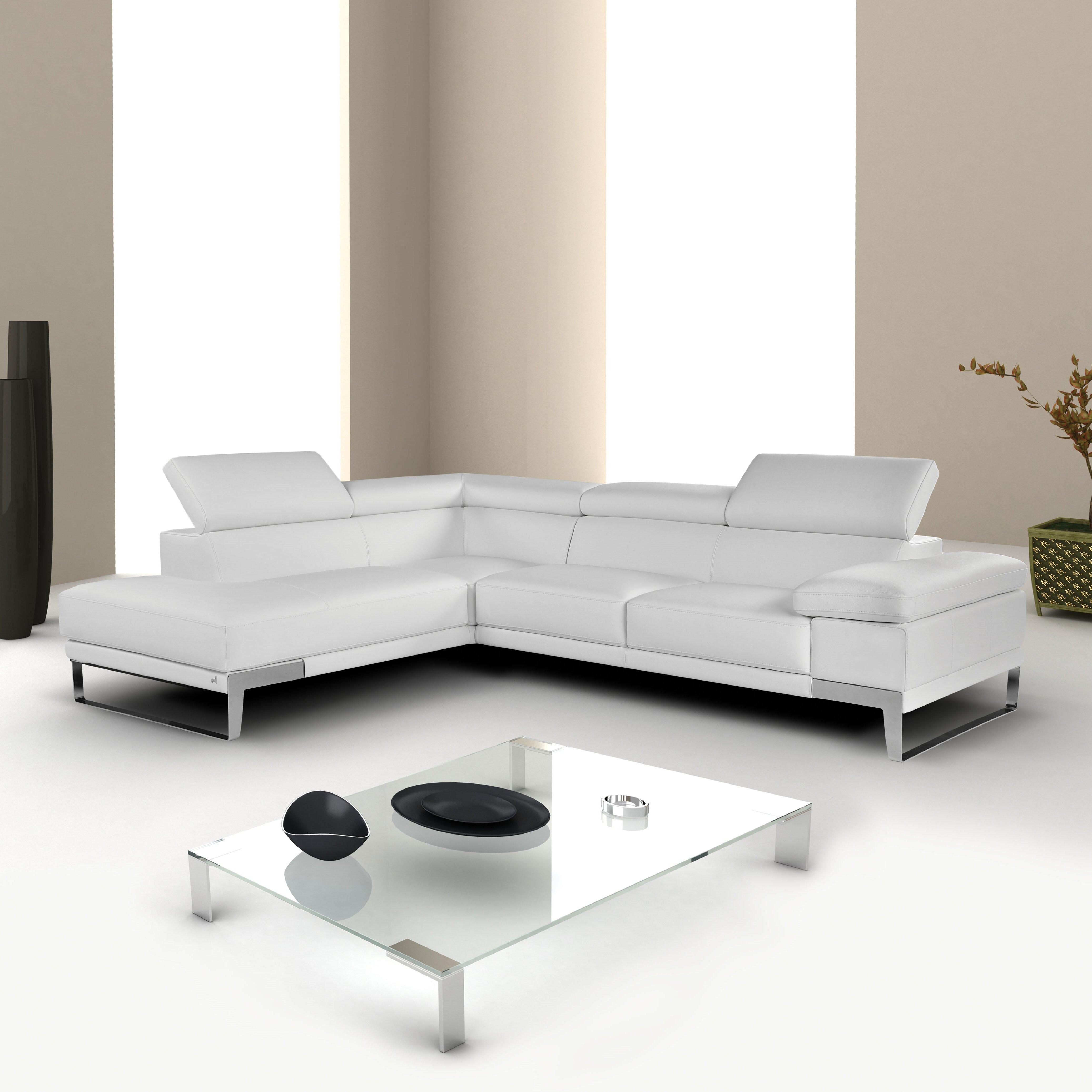 J M Furniture Nicoletti Sectional Reviews Wayfair