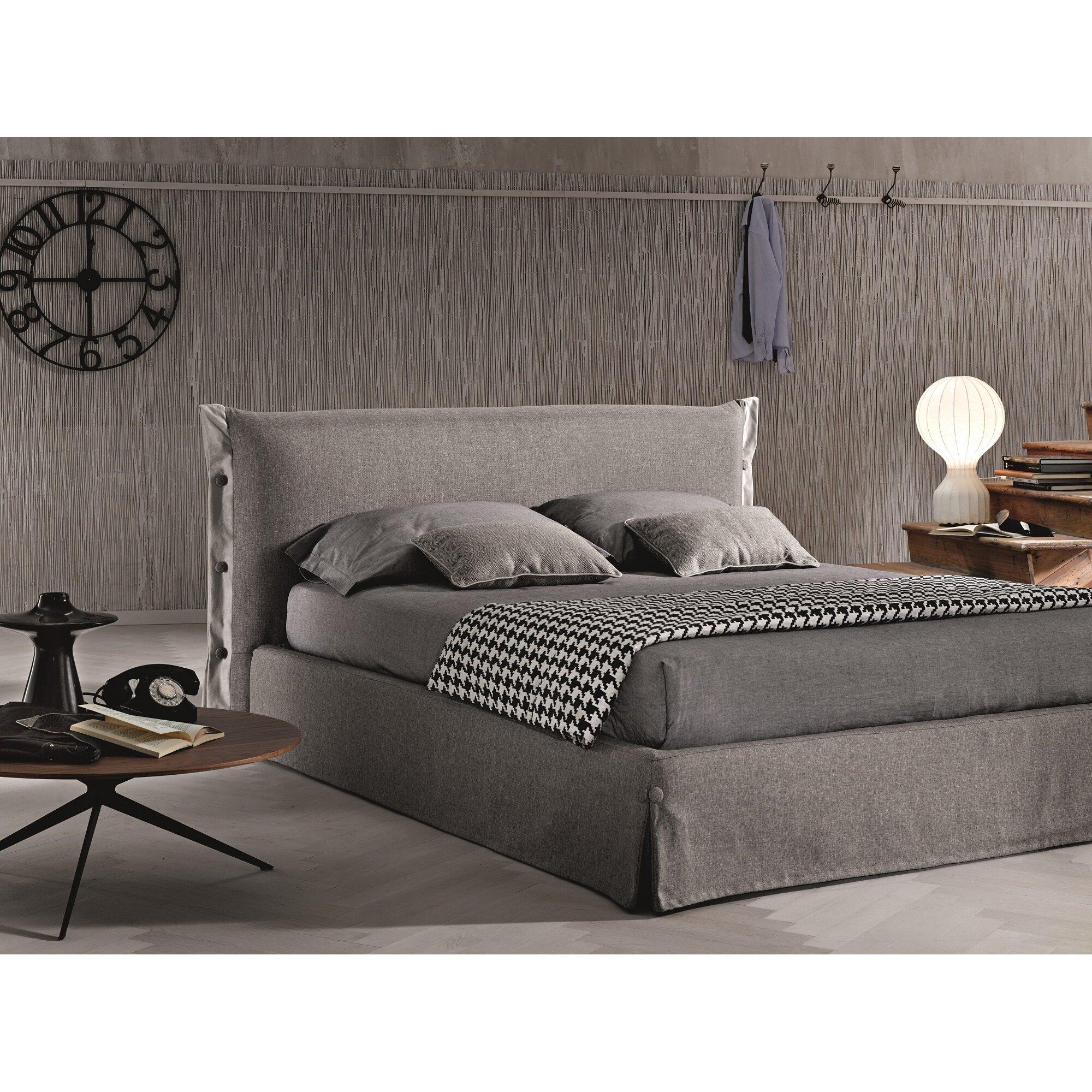 J M Furniture Upholstered Storage Platform Bed Reviews Wayfair