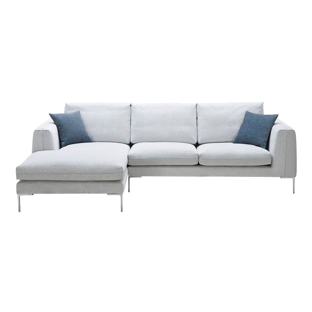 J m furniture bianca fabric sectional reviews wayfair for J furniture usa reviews
