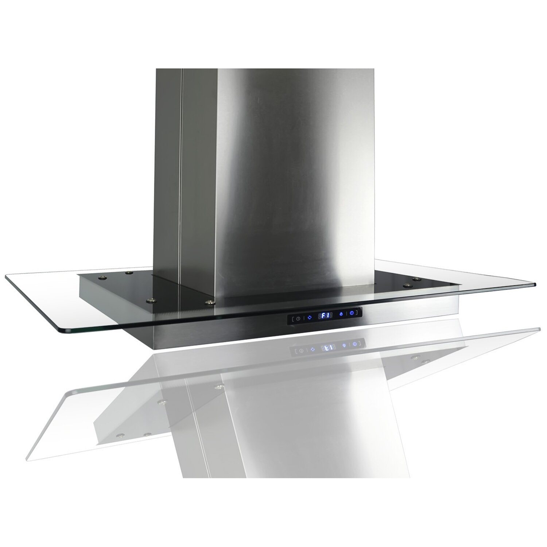goldenvantage 35 4 400 cfm convertible island range hood wayfair. Black Bedroom Furniture Sets. Home Design Ideas