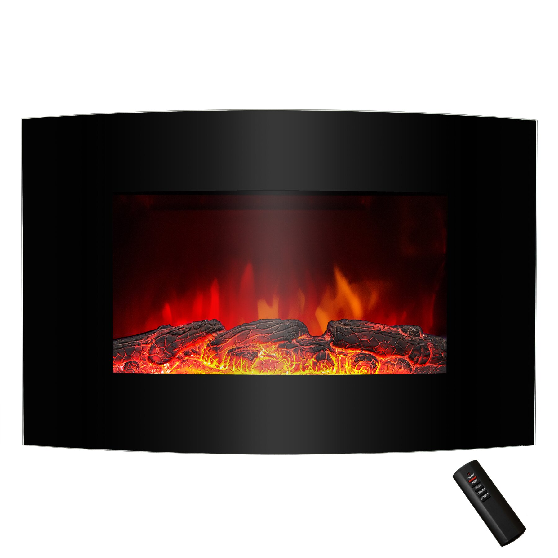 goldenvantage wall mount electric fireplace reviews