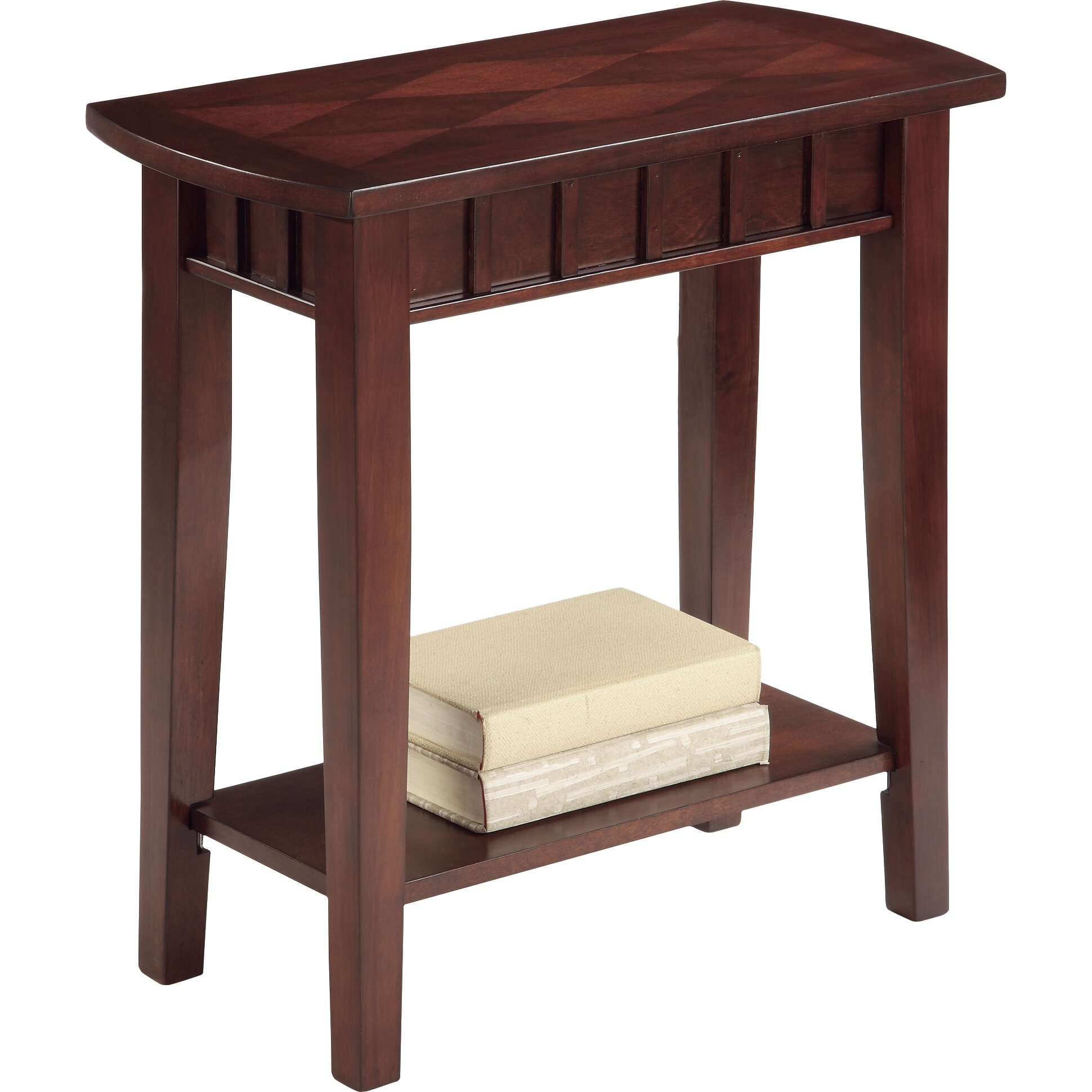 Crown mark dentil chairside table reviews wayfair for Markup table