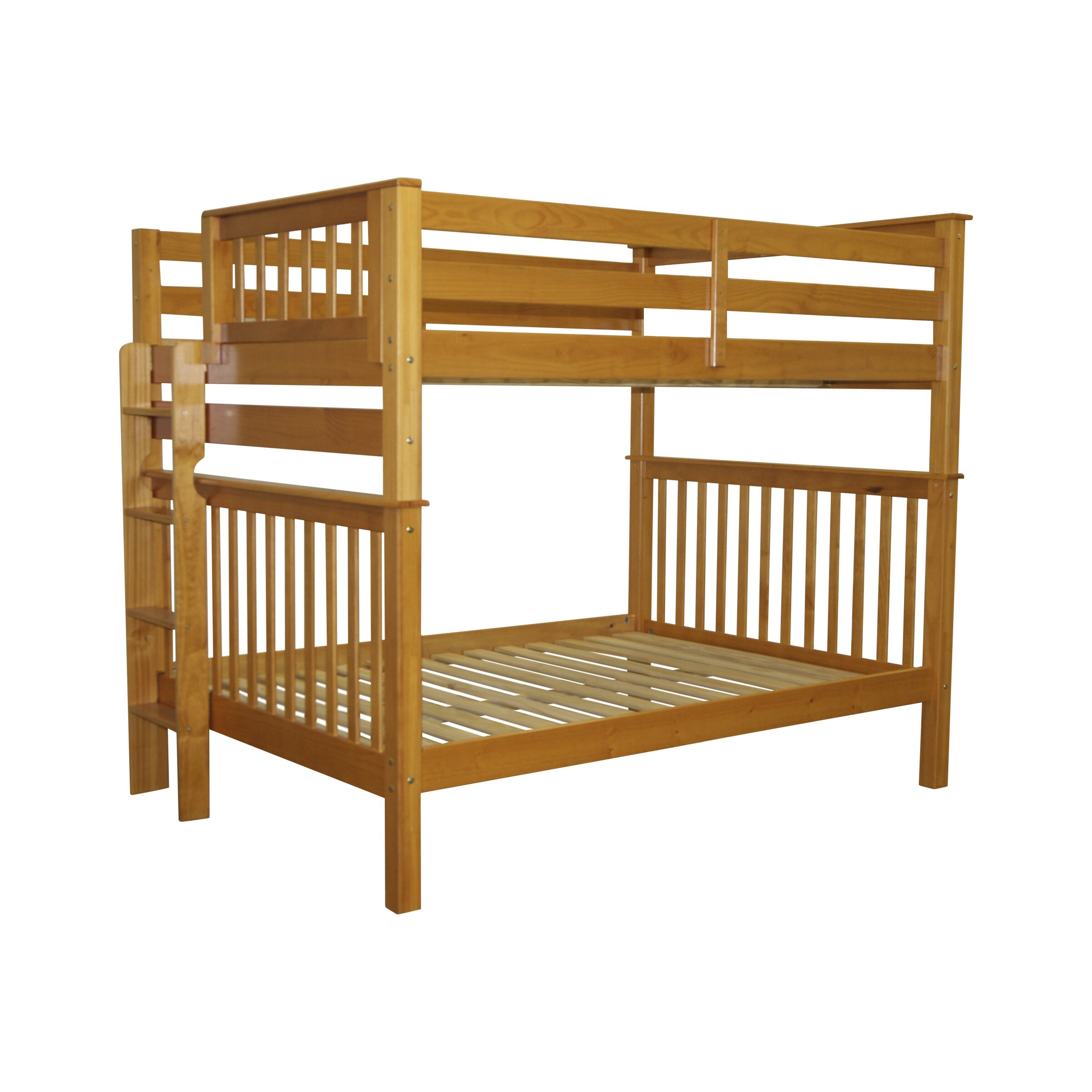 Bedz King Mission Full Over Full Bunk Bed Reviews Wayfair