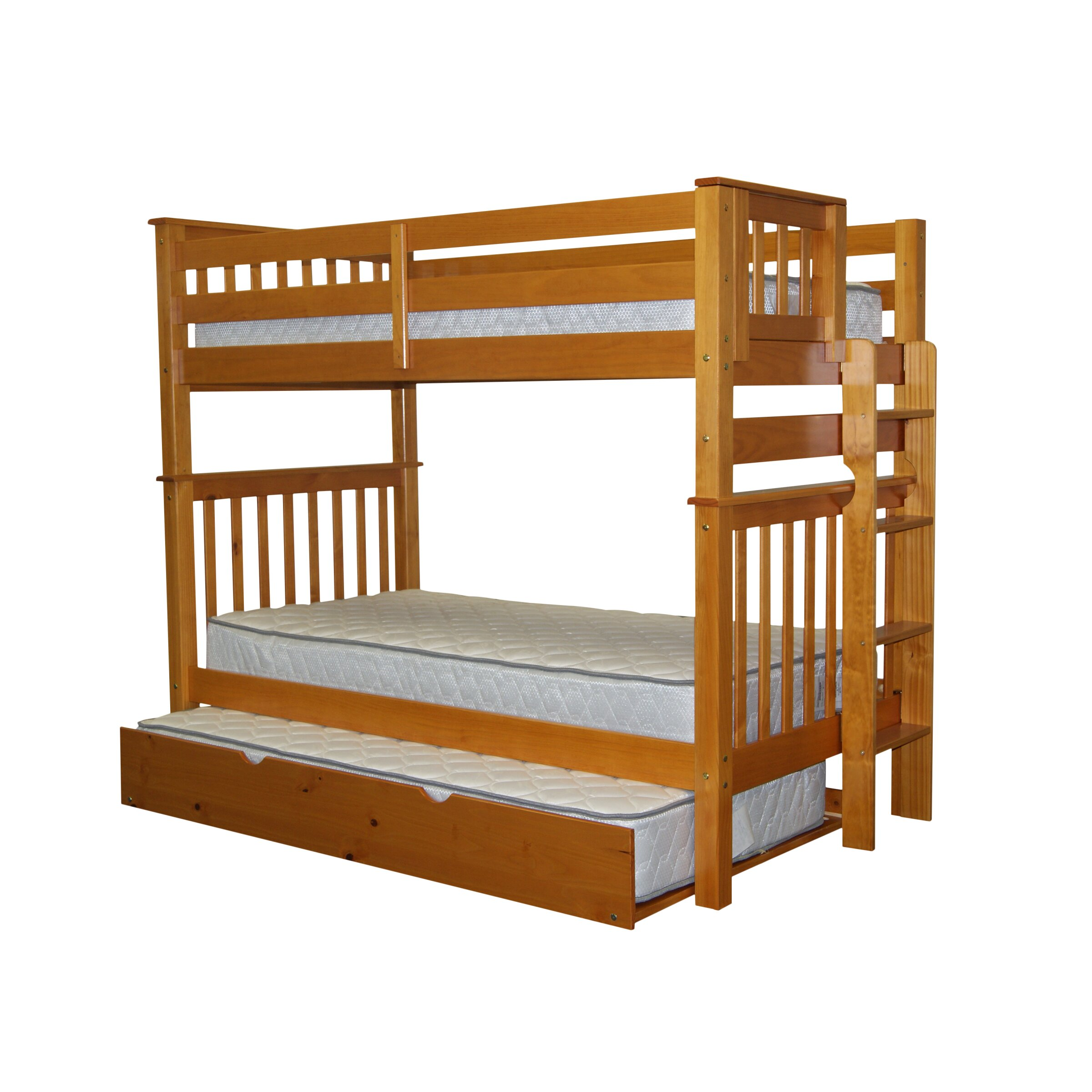 Bedz King Mission Twin Bunk Bed Reviews Wayfair
