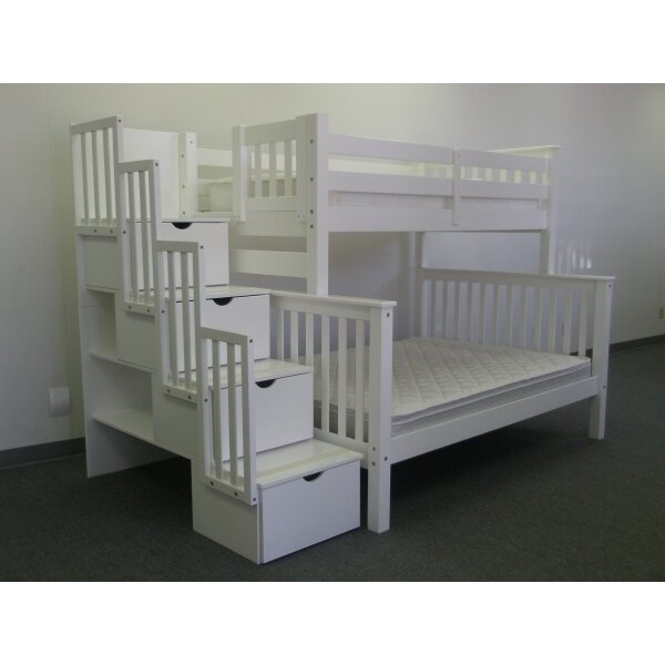 Bedz King Twin Bunk Bed With Trundle Reviews