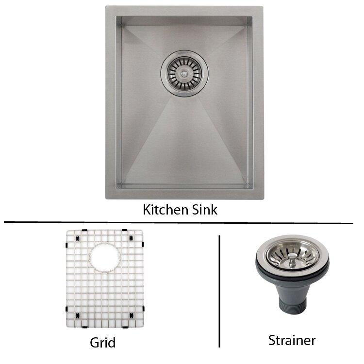 Improvement Kitchen Fixtures ... Undermount Kitchen Sinks Ticor Sinks ...