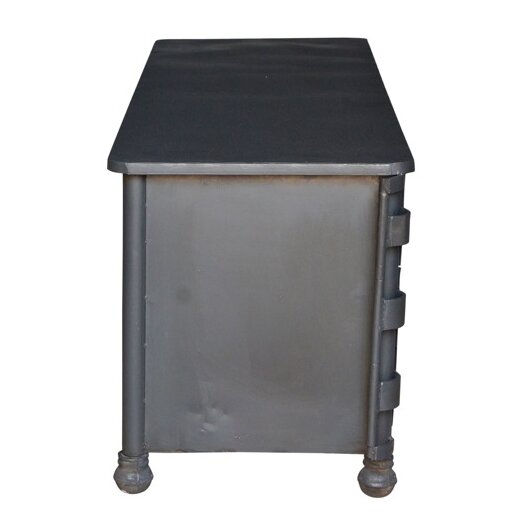 Cdi International Industrial Kitchen Cart With Mango Top: CDI International Industrial TV Stand