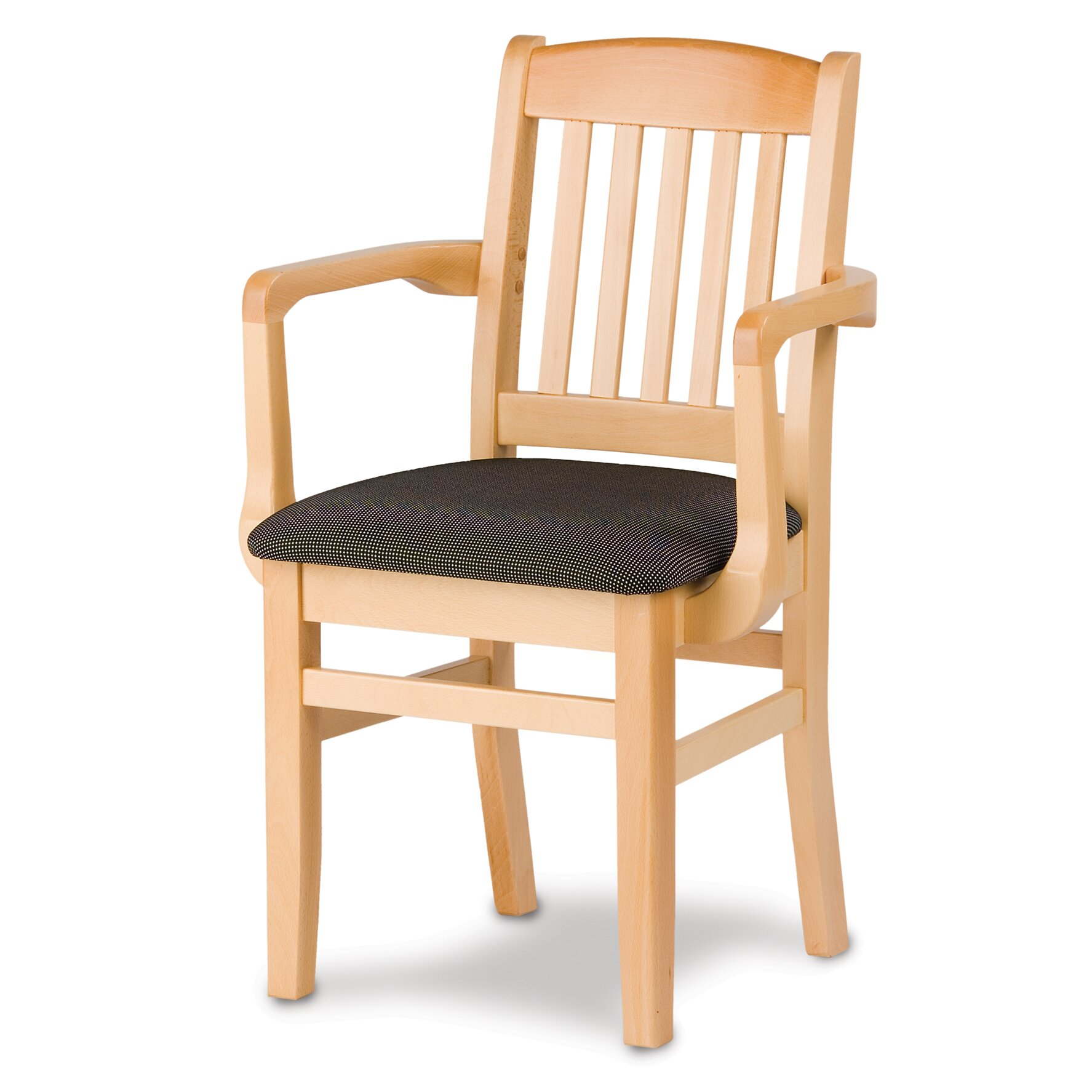 Kitchen Chairs With Arms: Holsag Bulldog Arm Chair With Cushion