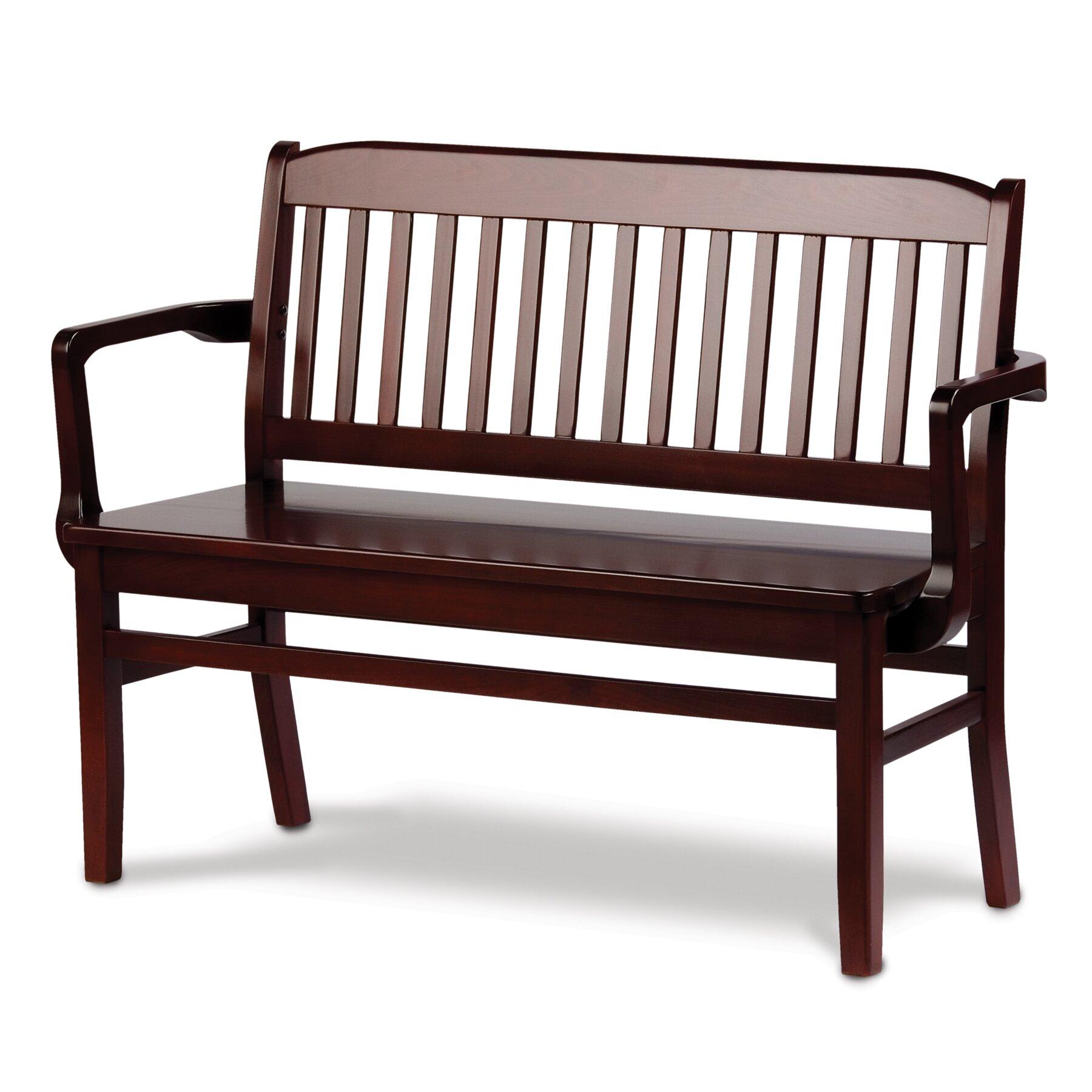 Holsag Bulldog Small Custom Wood Bench Reviews Wayfair