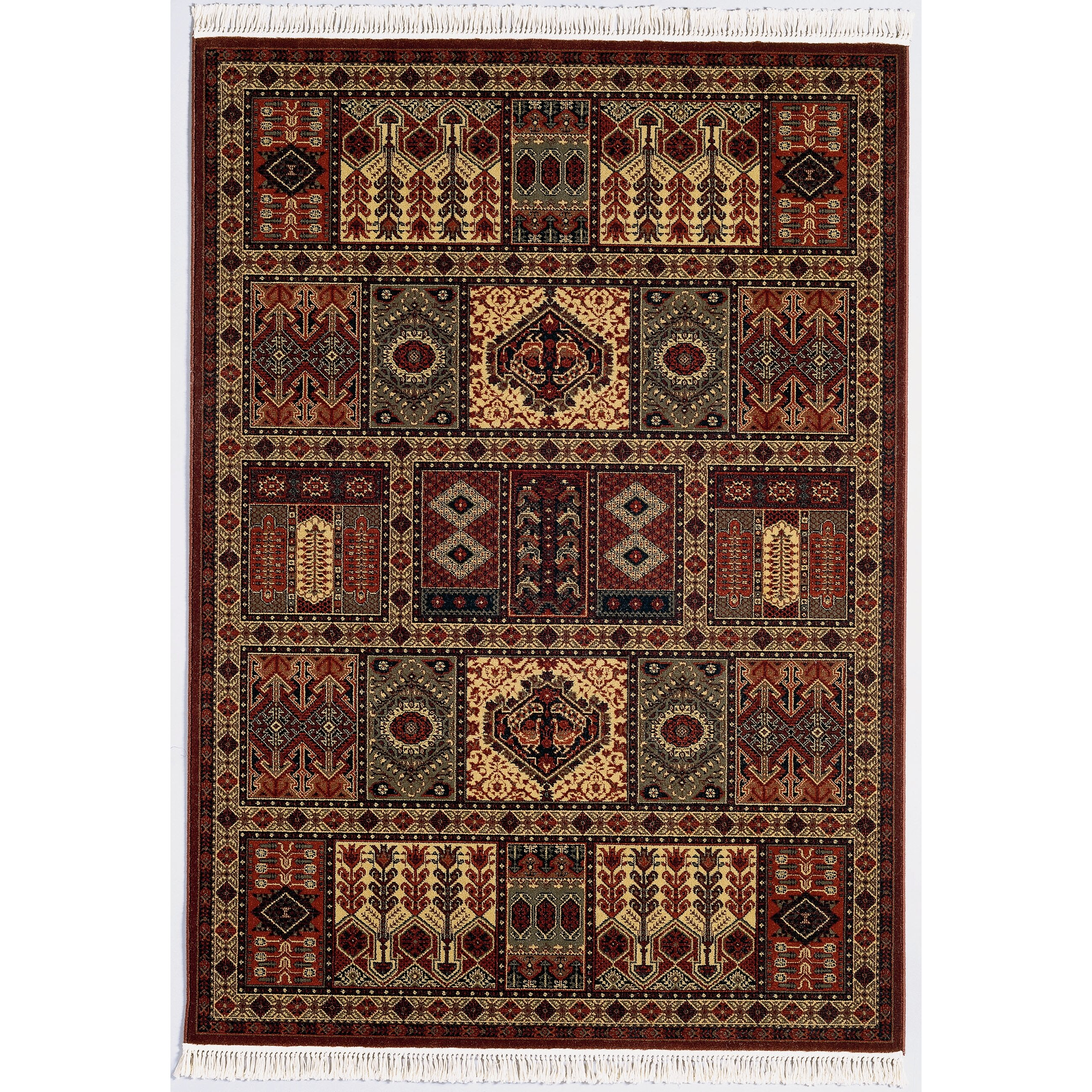 Couristan Kashimar Antique Nain Burgundy Rug & Reviews